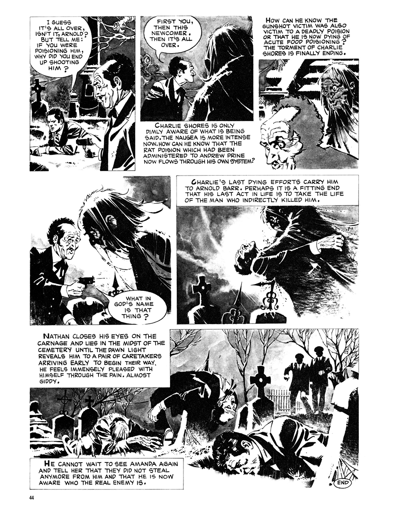 Read online Eerie Archives comic -  Issue # TPB 8 - 45