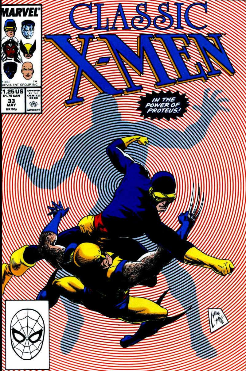 Classic X-Men 33 Page 1