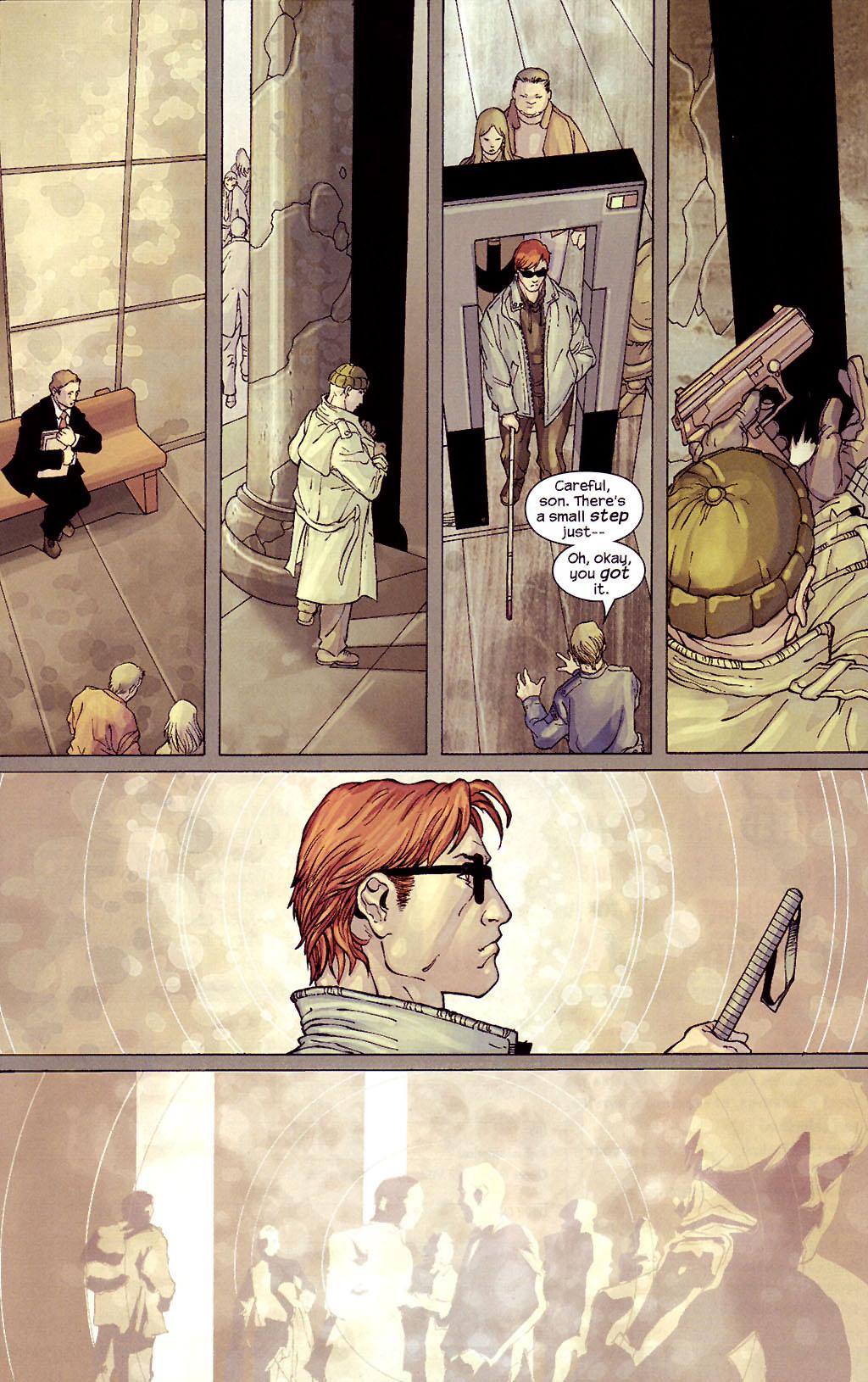 Read online Ultimate Elektra comic -  Issue #4 - 19