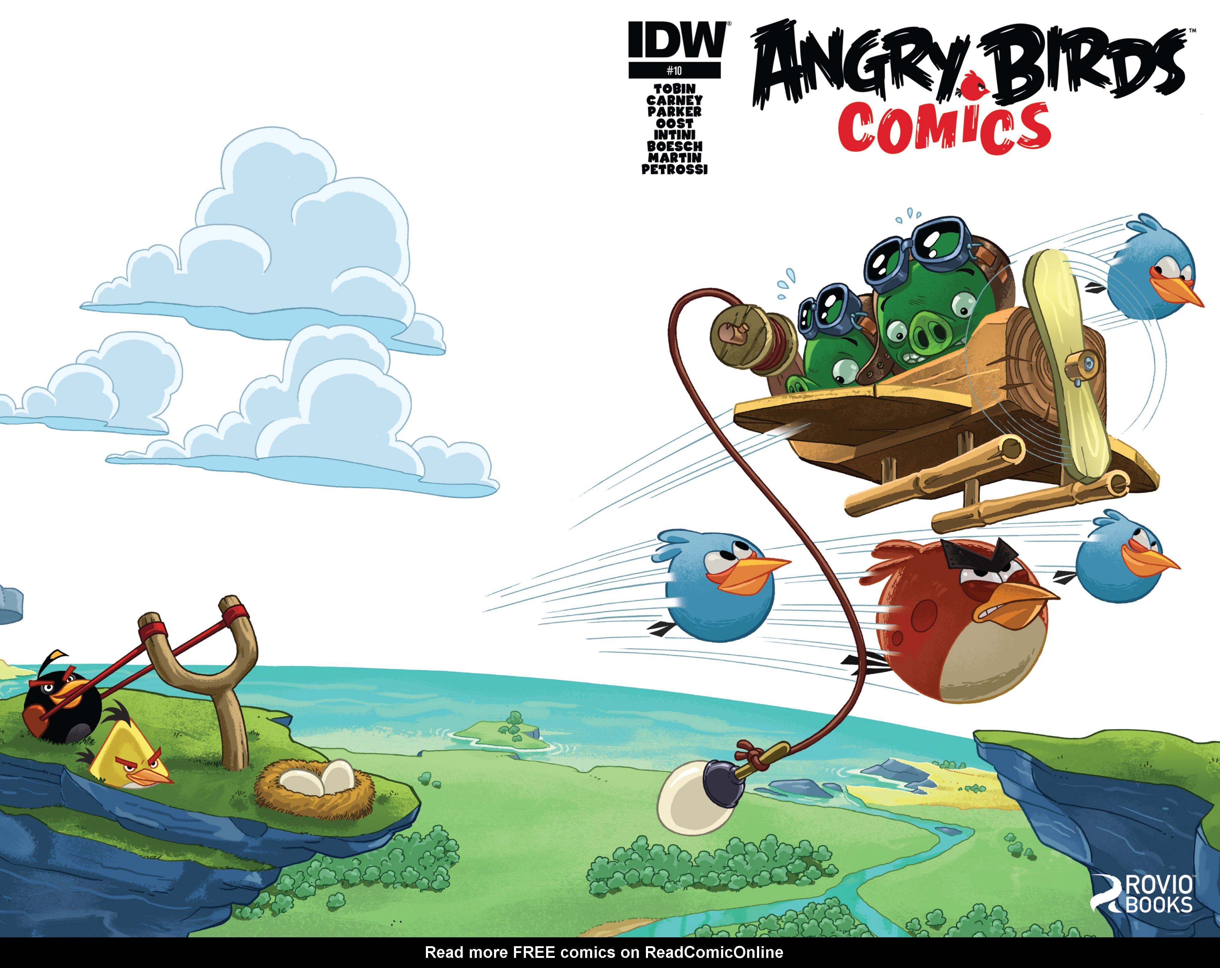 Read online Angry Birds Comics (2014) comic -  Issue #10 - 1