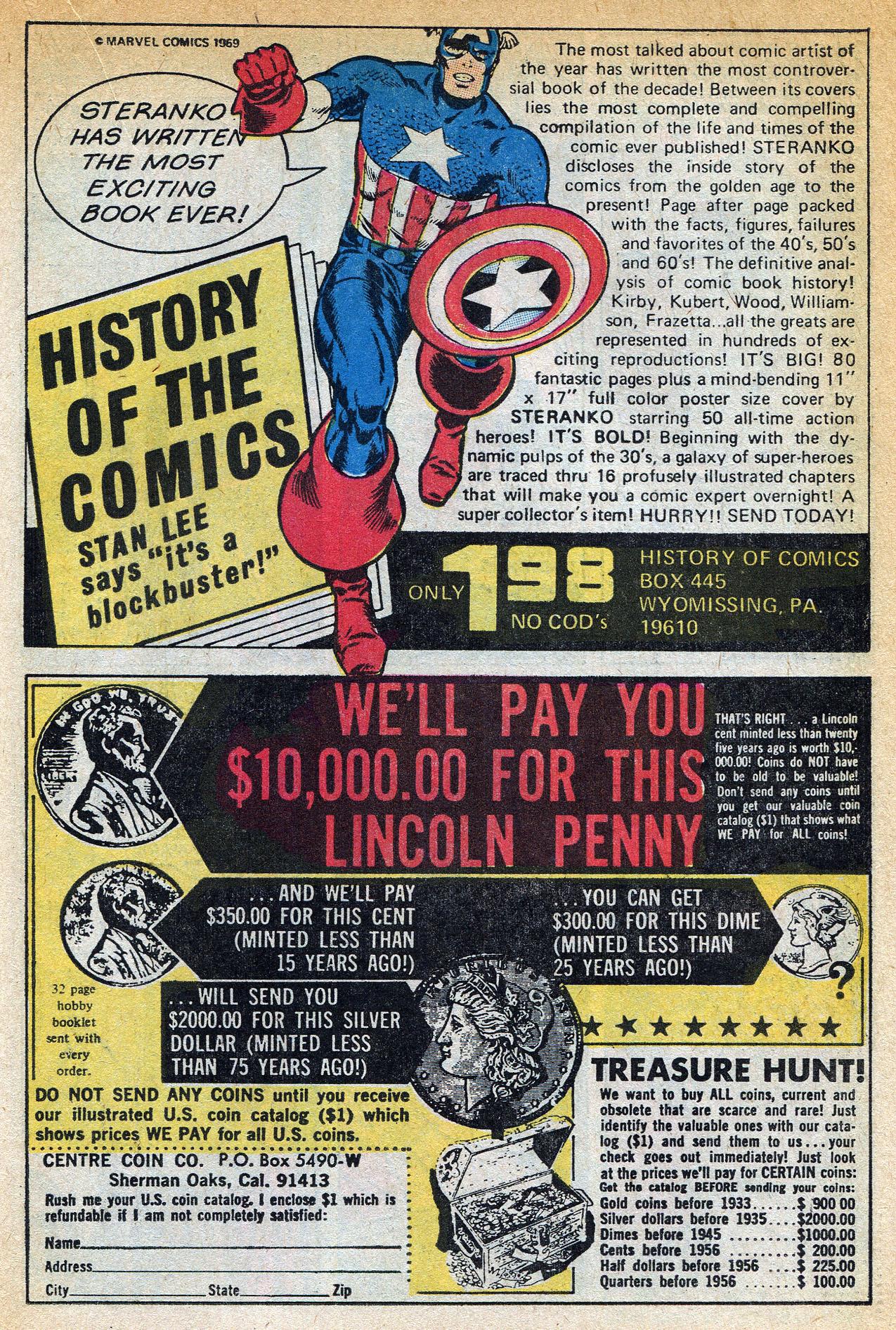 Read online Amazing Adventures (1970) comic -  Issue #1 - 19
