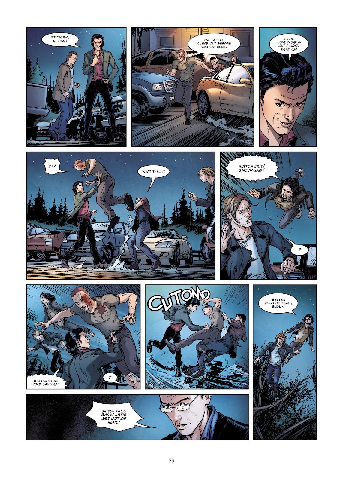 Read online Vigilantes comic -  Issue #2 - 29