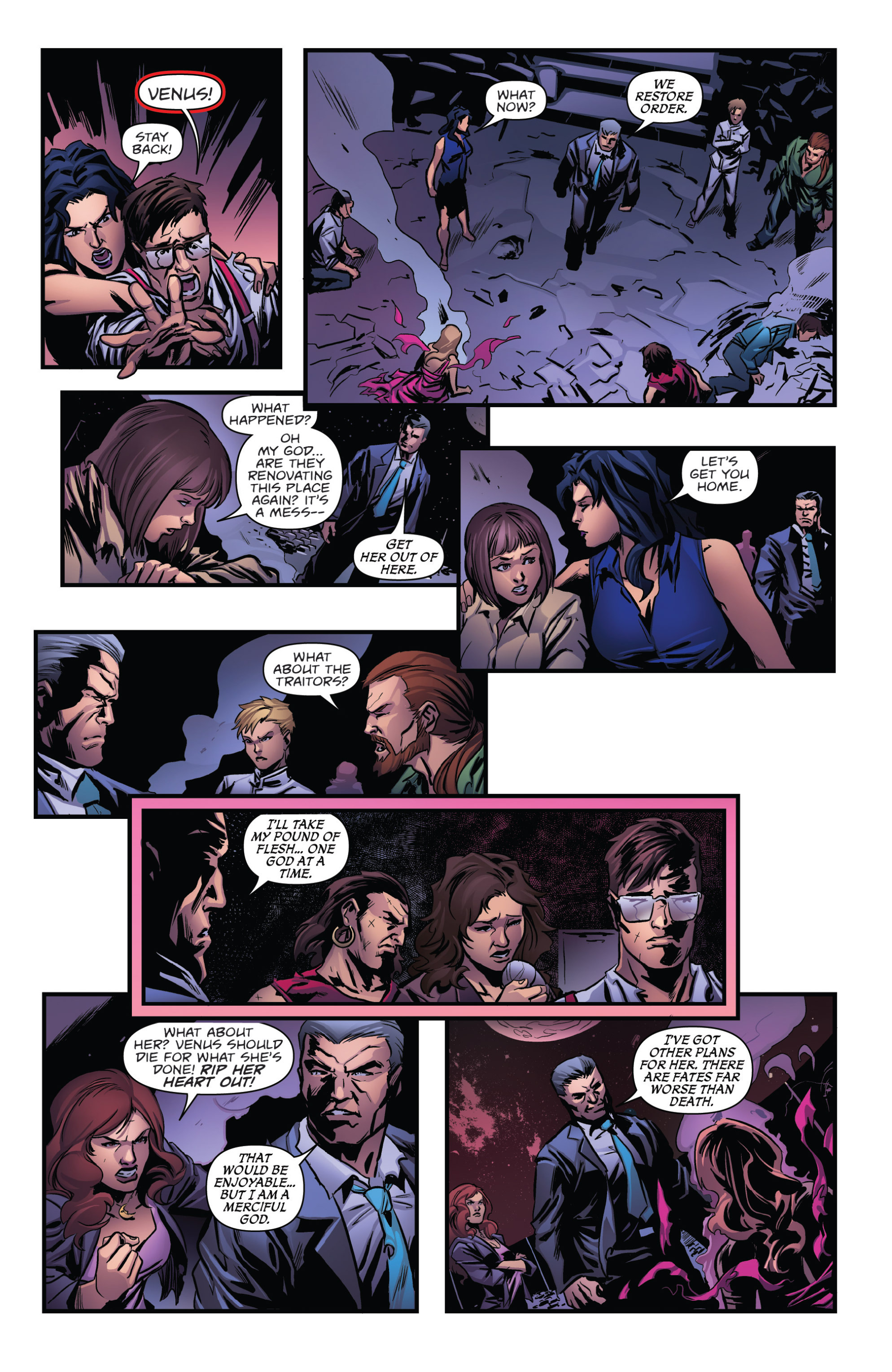 Read online Grimm Fairy Tales presents Goddess Inc. comic -  Issue #5 - 24