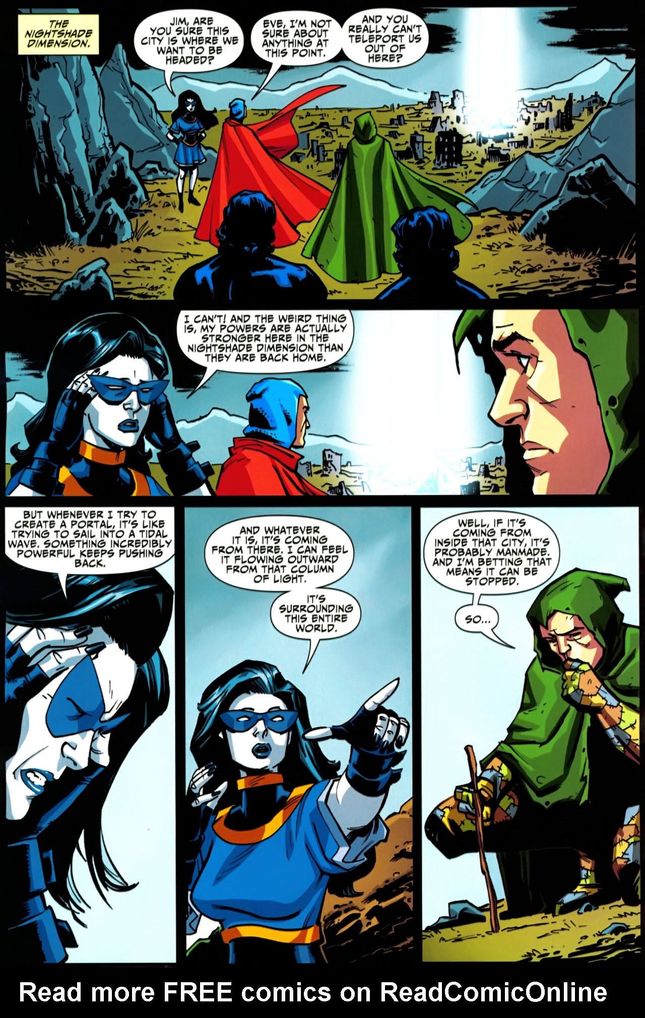 Read online Shadowpact comic -  Issue #20 - 11