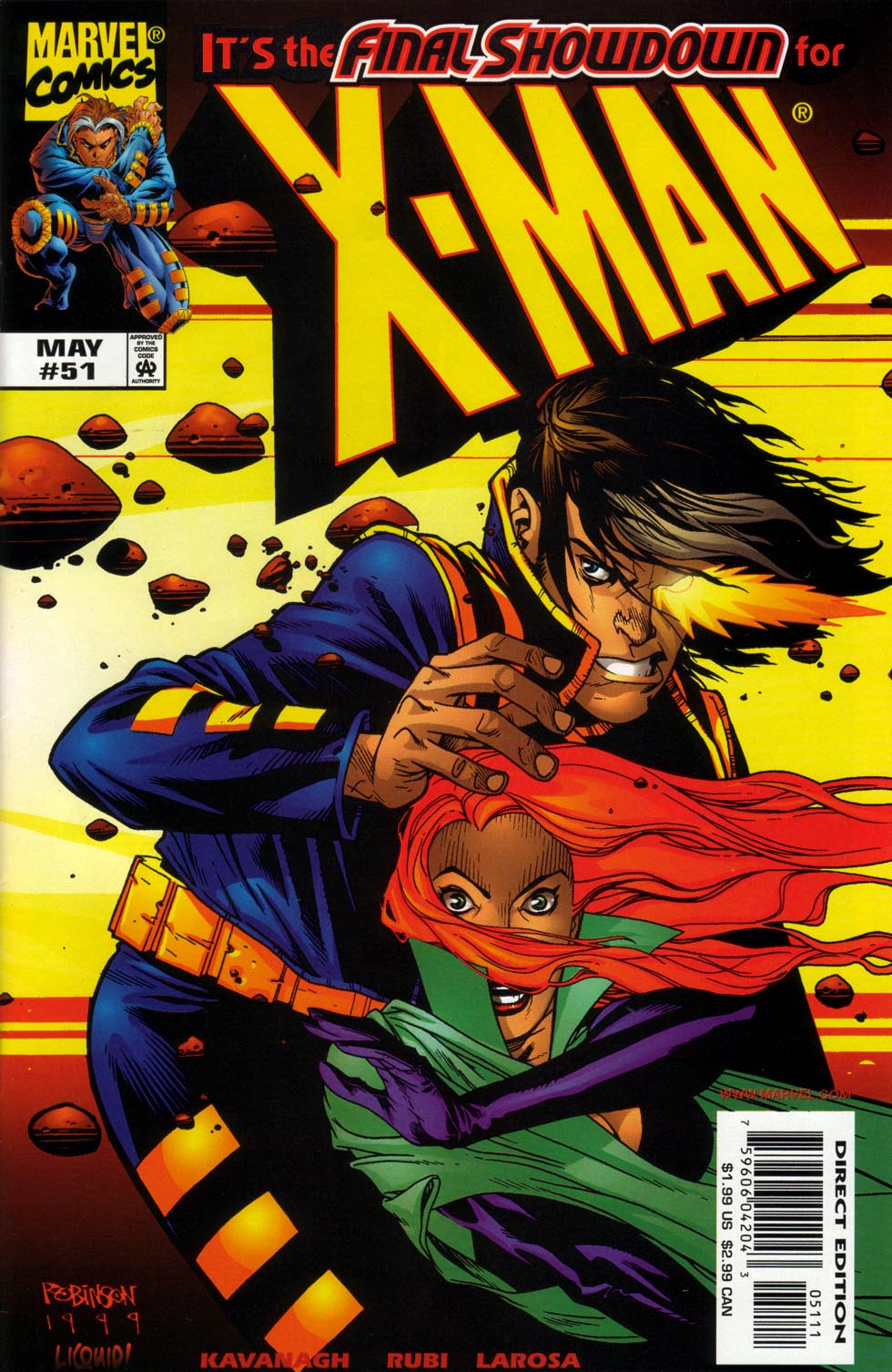 X-Man 51 Page 1
