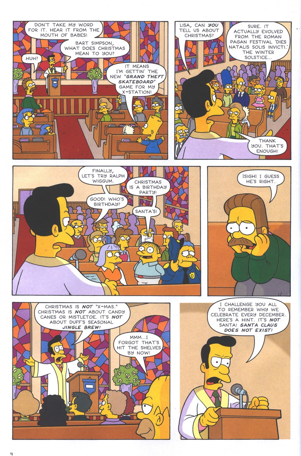 Read online The Simpsons Winter Wingding comic -  Issue #3 - 6