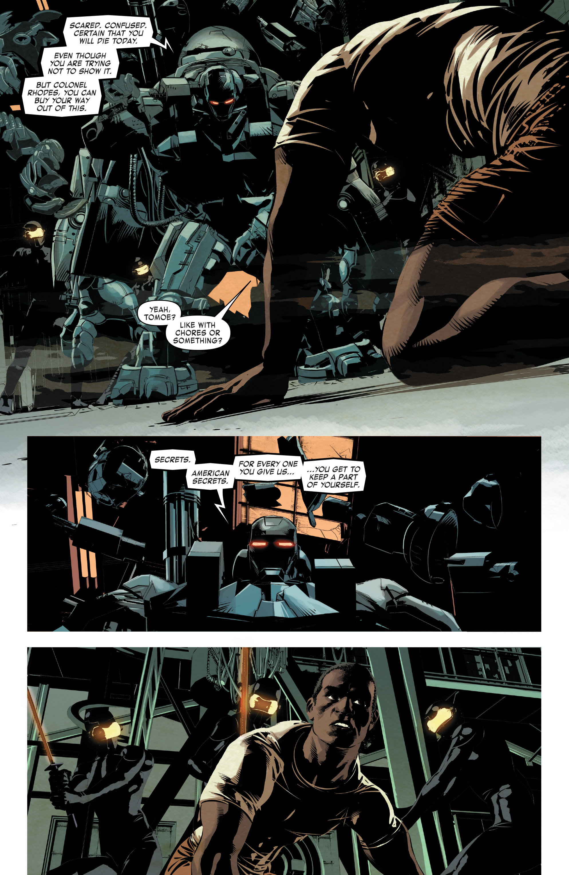 Read online True Believers: Invincible Iron Man-The War Machines comic -  Issue # Full - 51