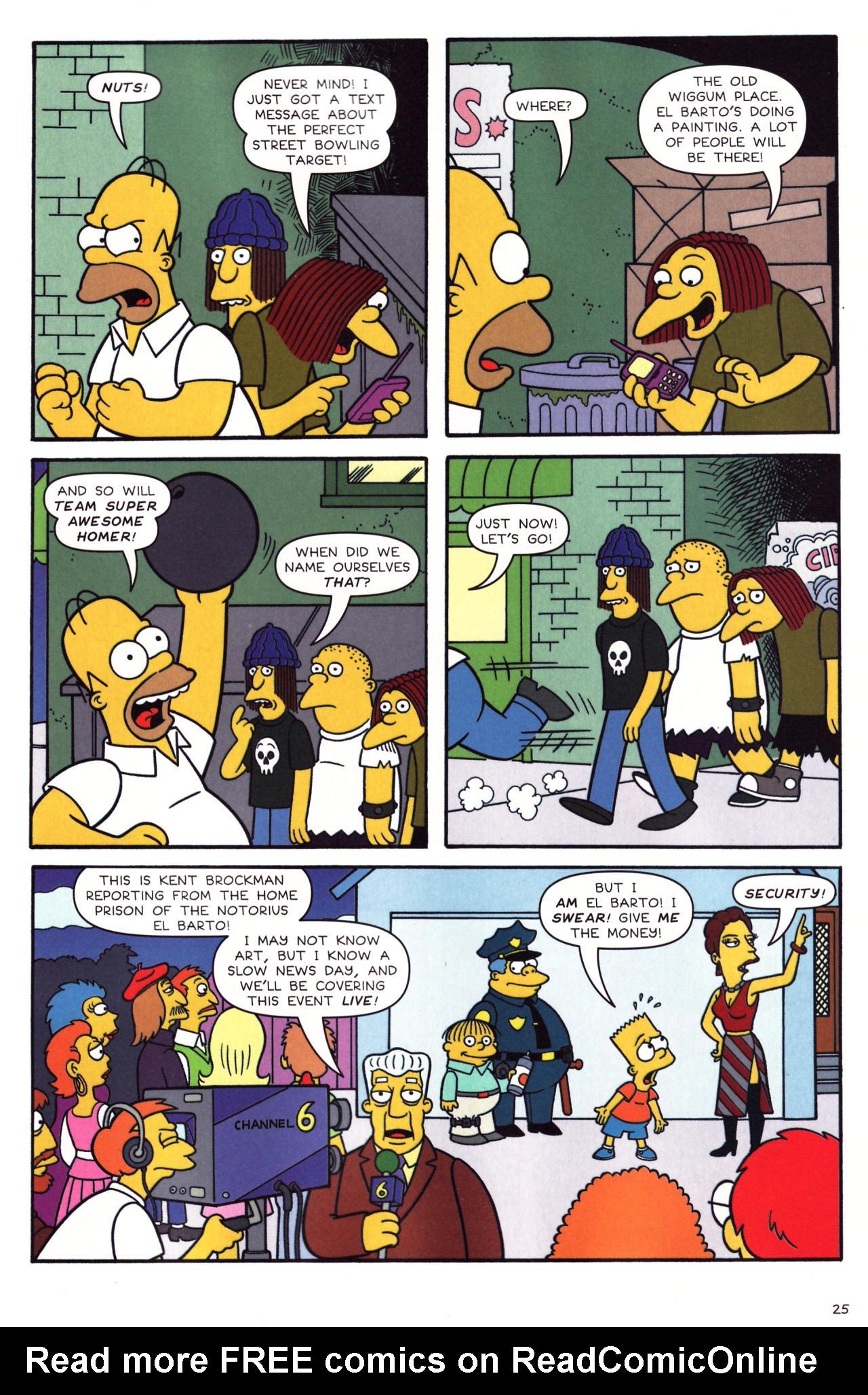 Read online Simpsons Comics comic -  Issue #136 - 20