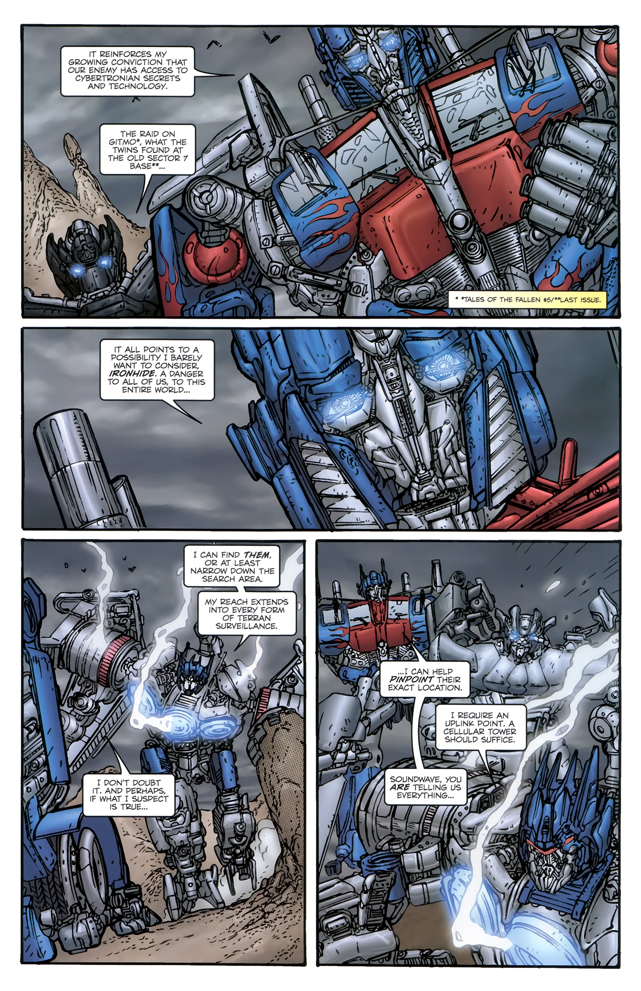 Read online Transformers: Nefarious comic -  Issue #5 - 6