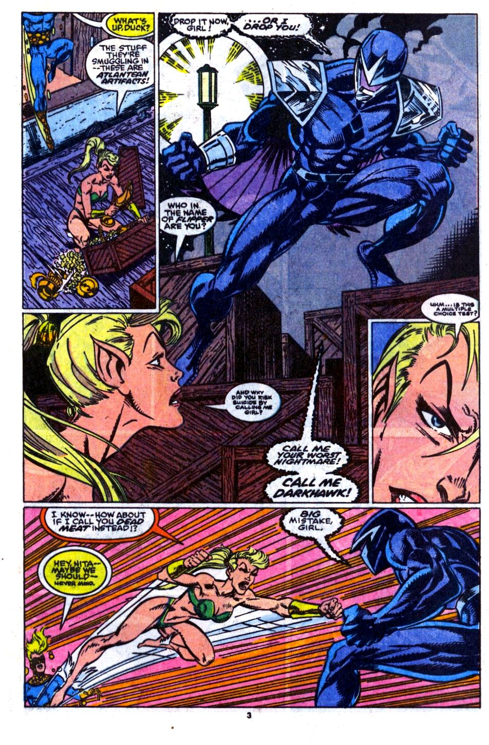 The New Warriors Issue #14 #18 - English 4