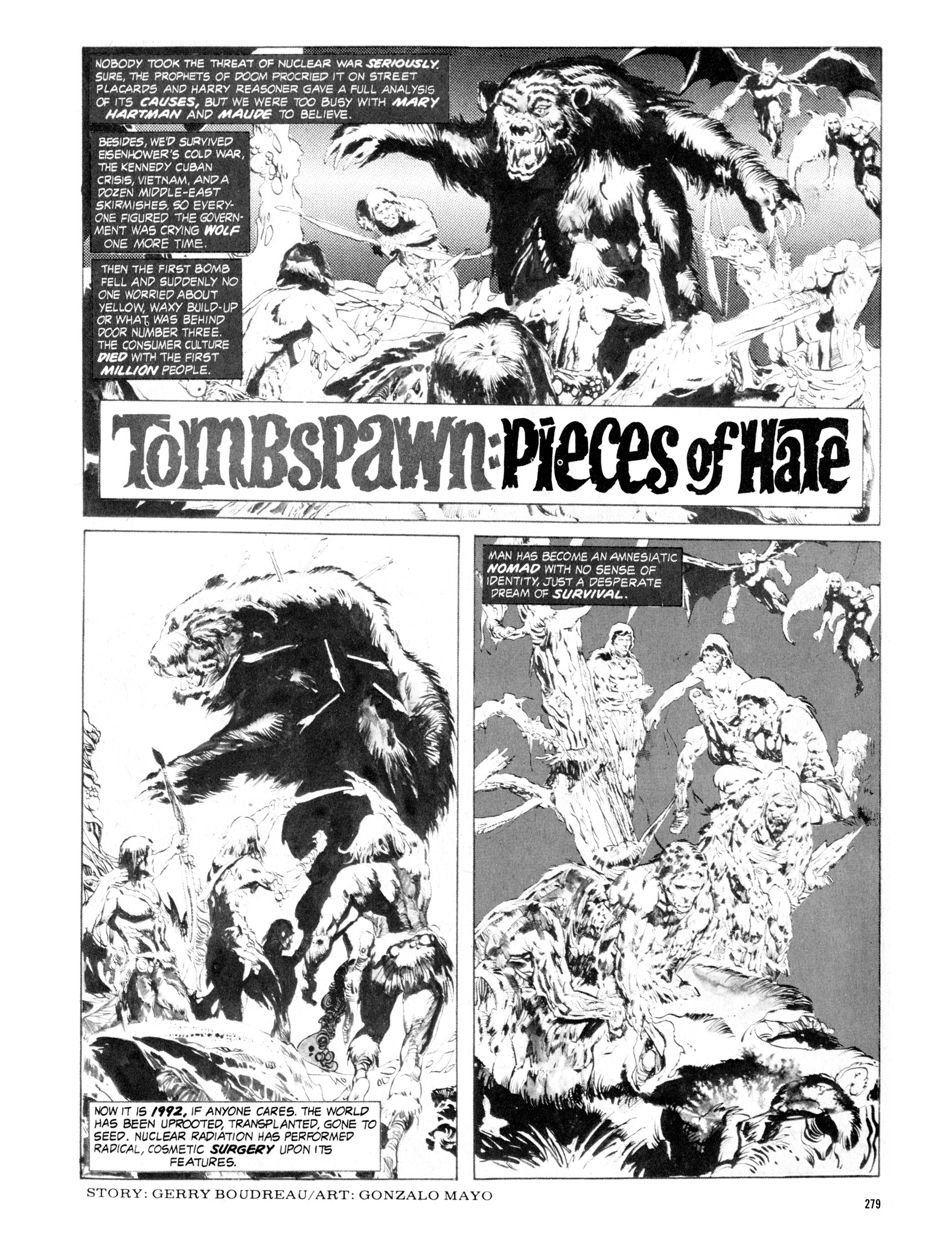 Read online Eerie Archives comic -  Issue # TPB 16 - 280