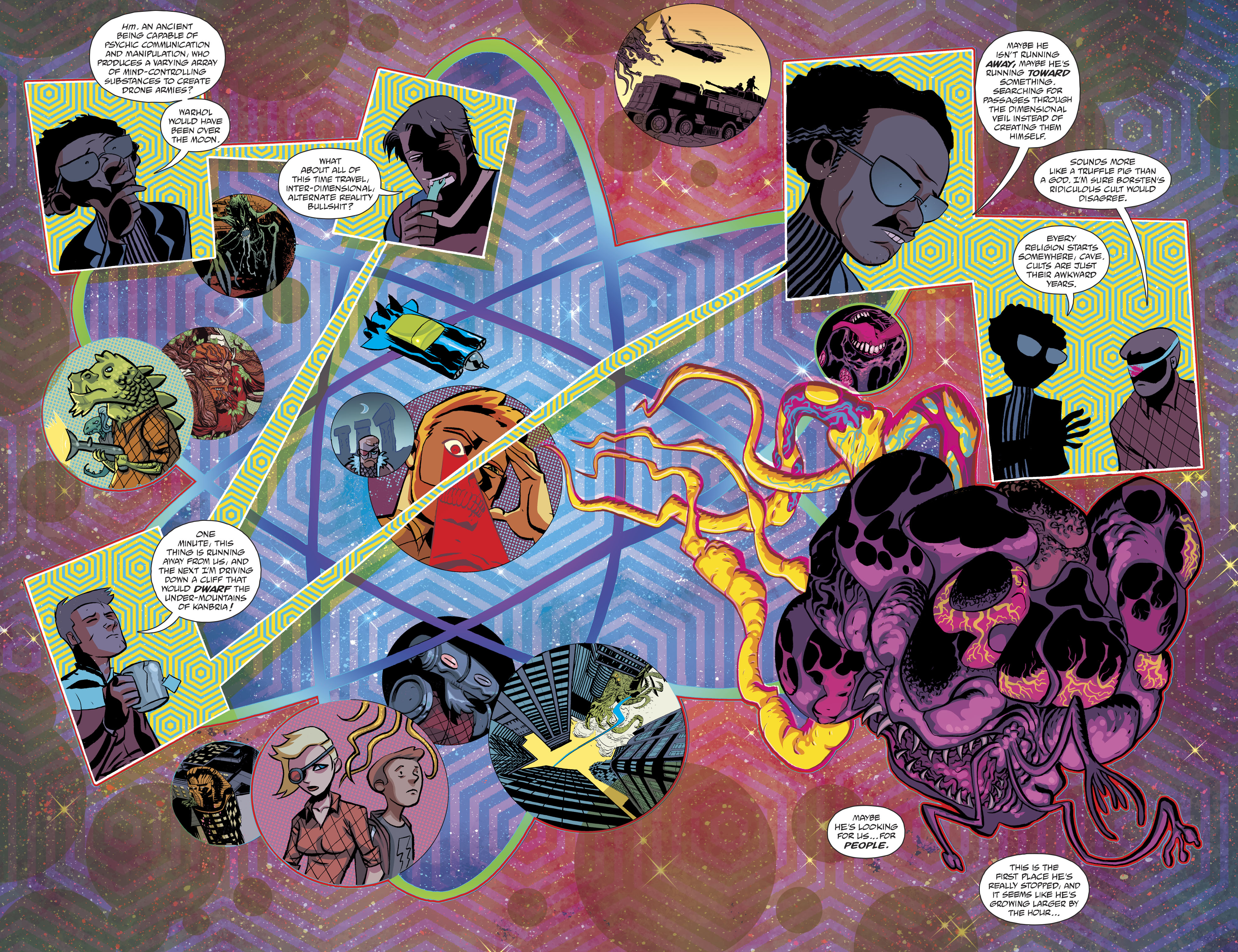 Read online Cave Carson Has a Cybernetic Eye comic -  Issue #8 - 15