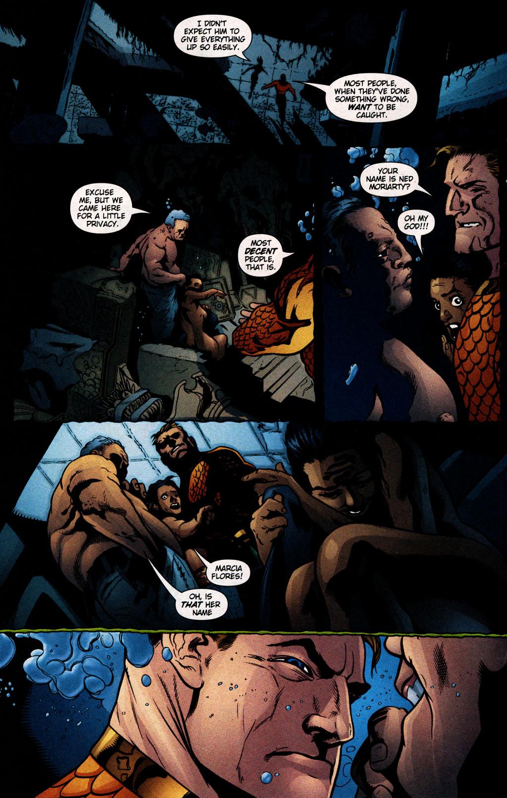 Read online Aquaman (2003) comic -  Issue #25 - 15
