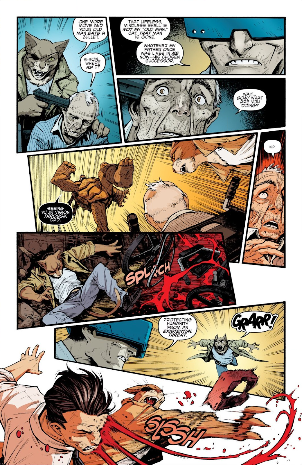 Read online Teenage Mutant Ninja Turtles: The IDW Collection comic -  Issue # TPB 9 (Part 1) - 89