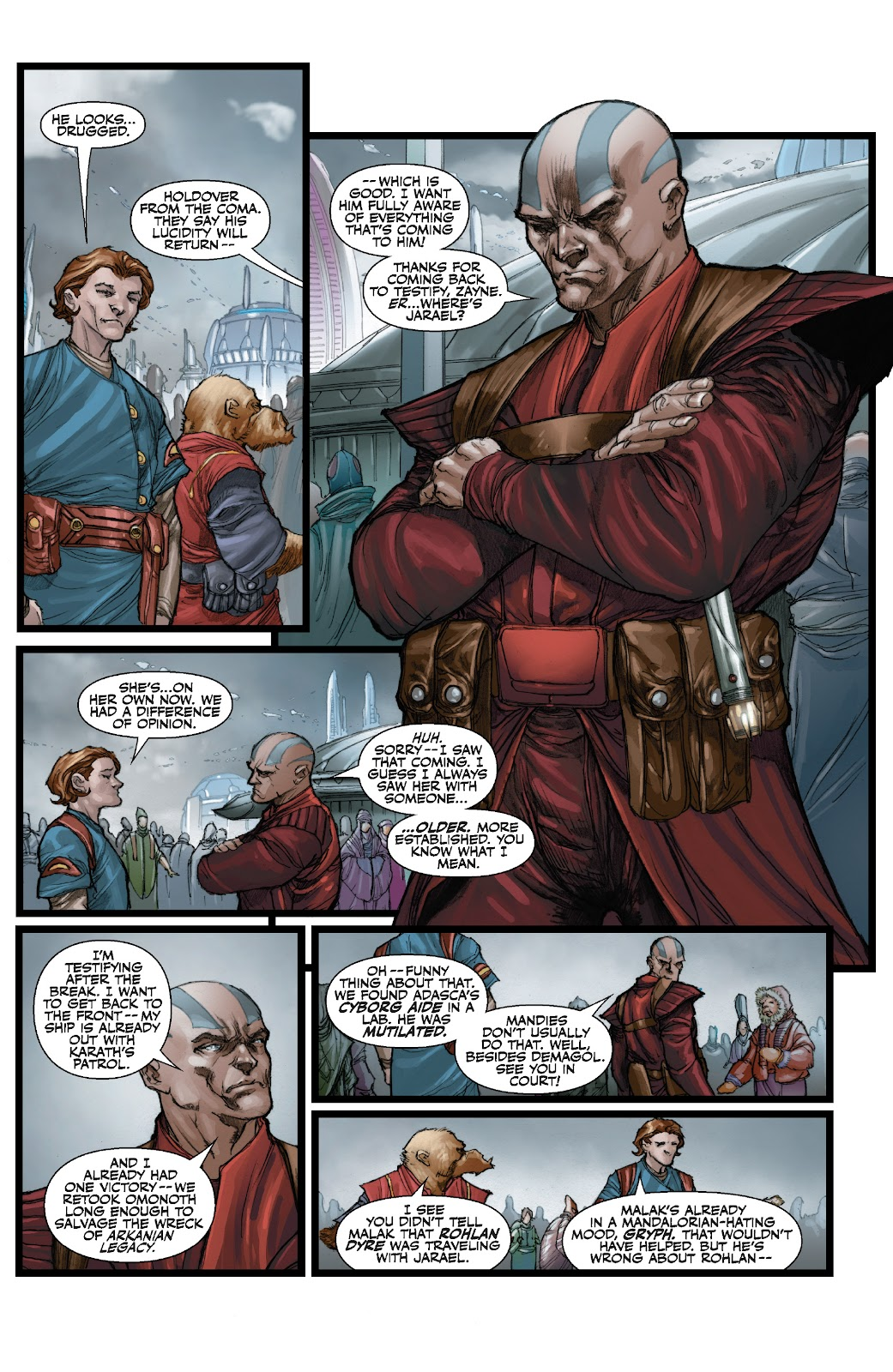 Read online Star Wars Legends: The Old Republic - Epic Collection comic -  Issue # TPB 3 (Part 3) - 16