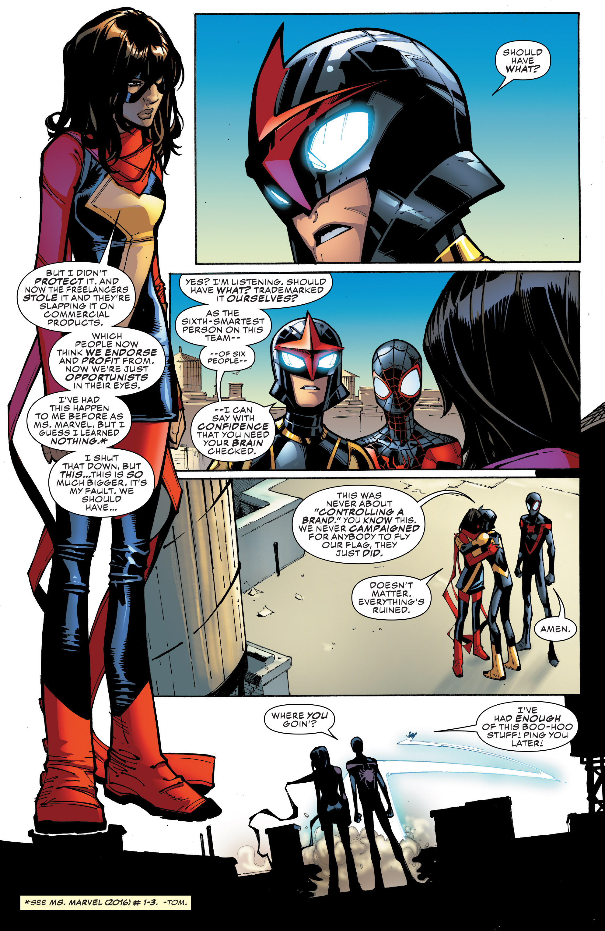 Read online Champions (2016) comic -  Issue #8 - 9