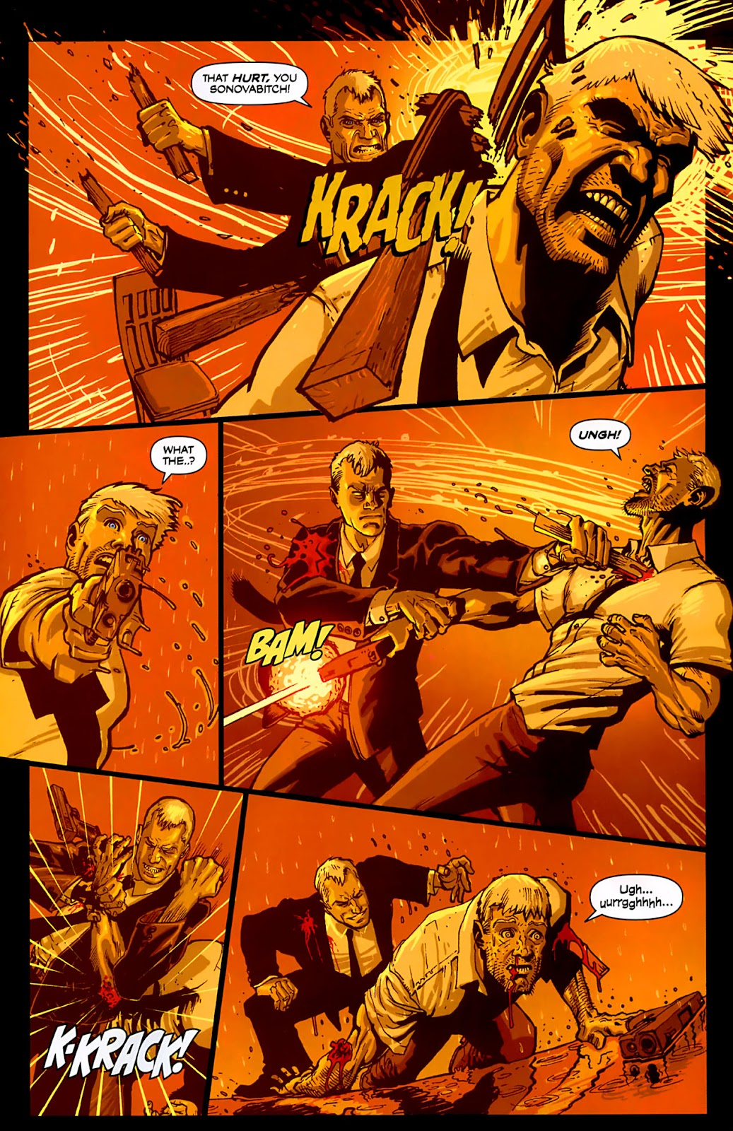 Read online Lazarus (2007) comic -  Issue #3 - 19