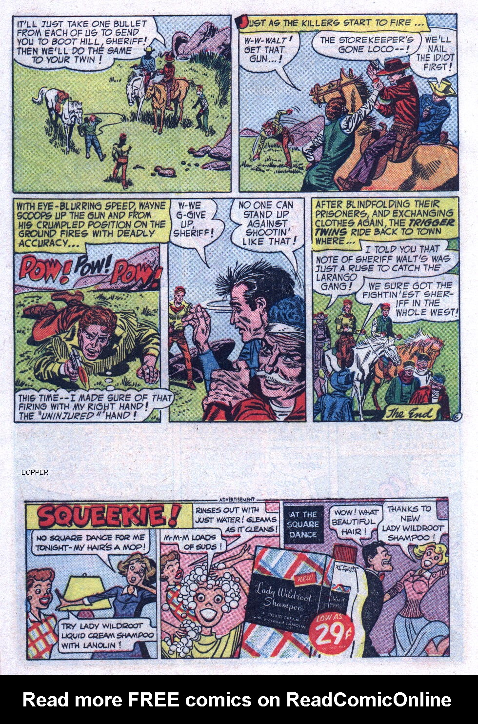 Read online All-Star Western (1951) comic -  Issue #74 - 8