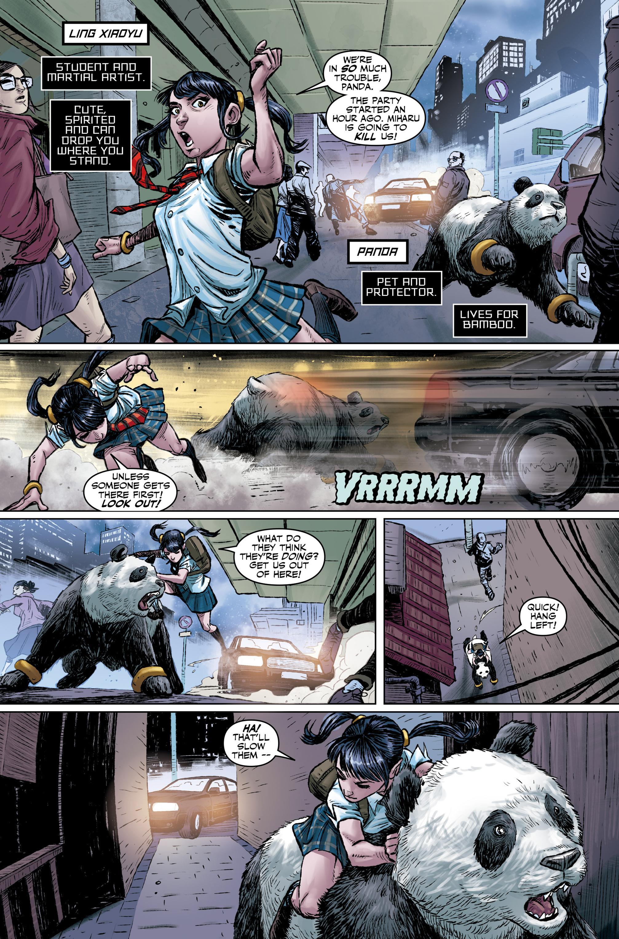 Read online Tekken comic -  Issue #1 - 10