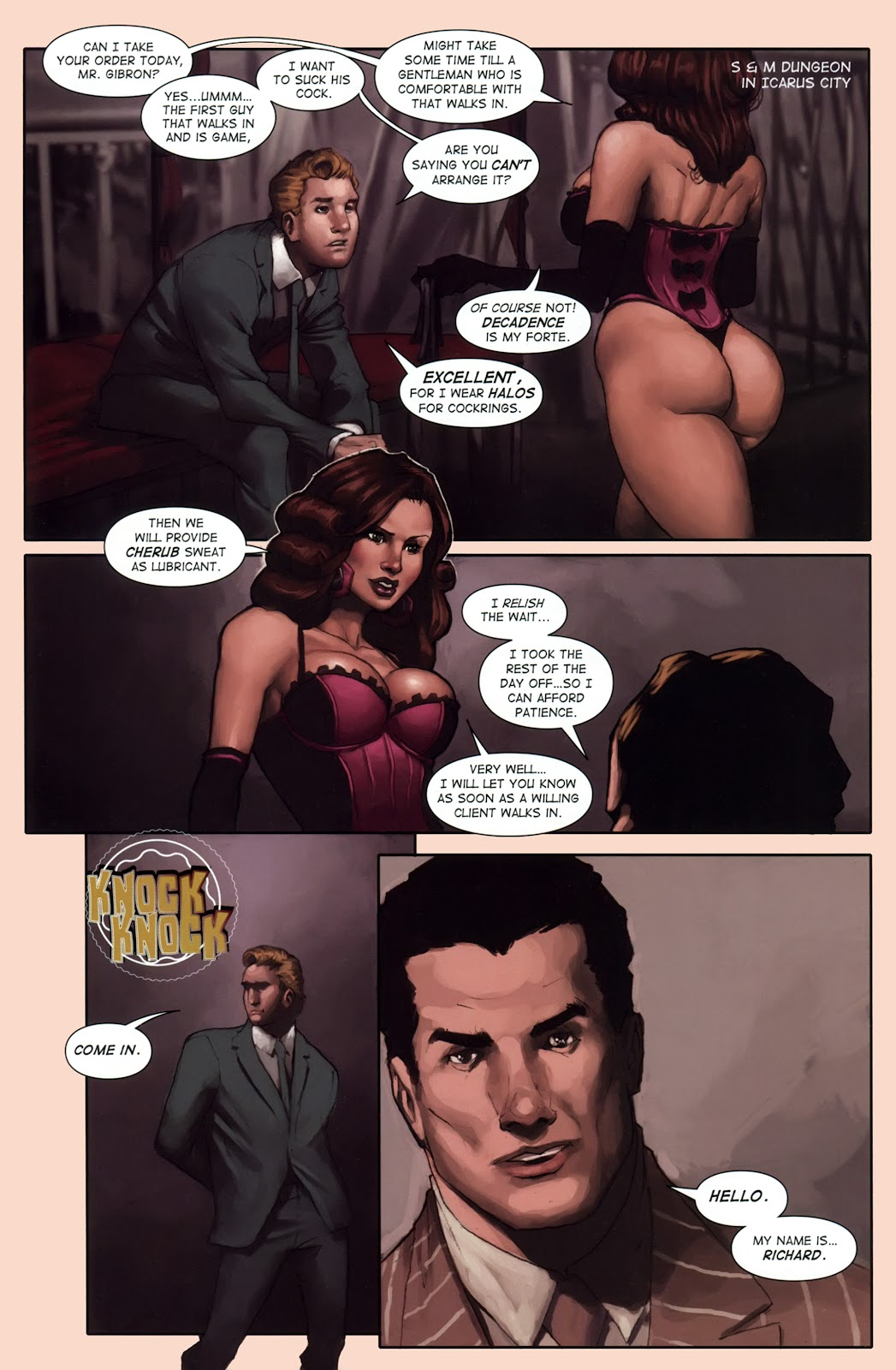 Read online Vescell comic -  Issue #1 - 14