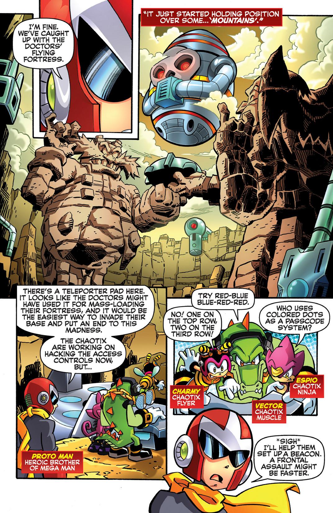 Read online Sonic Mega Man Worlds Collide comic -  Issue # Vol 2 - 98