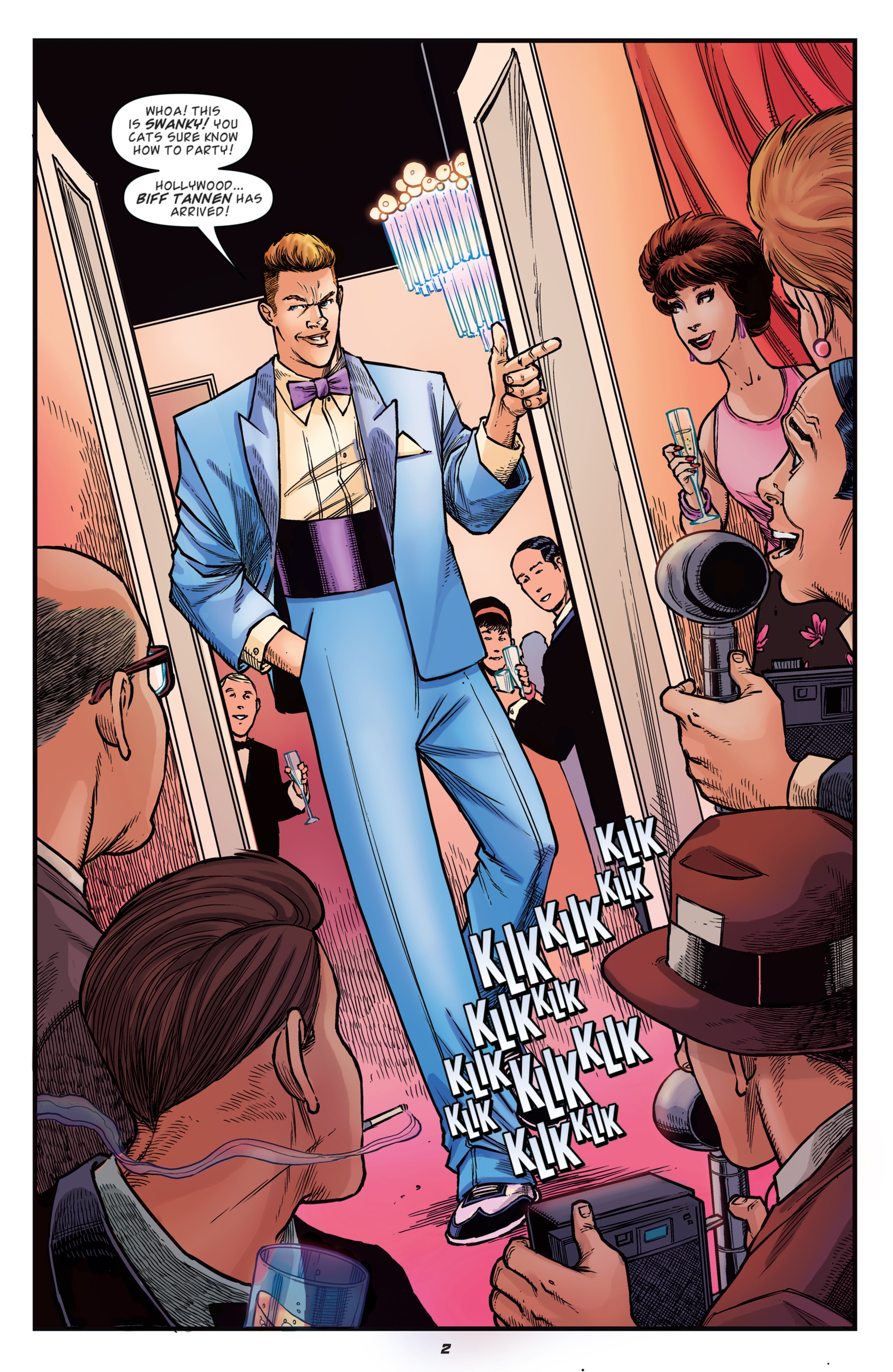Read online Back to the Future: Biff to the Future comic -  Issue #2 - 4