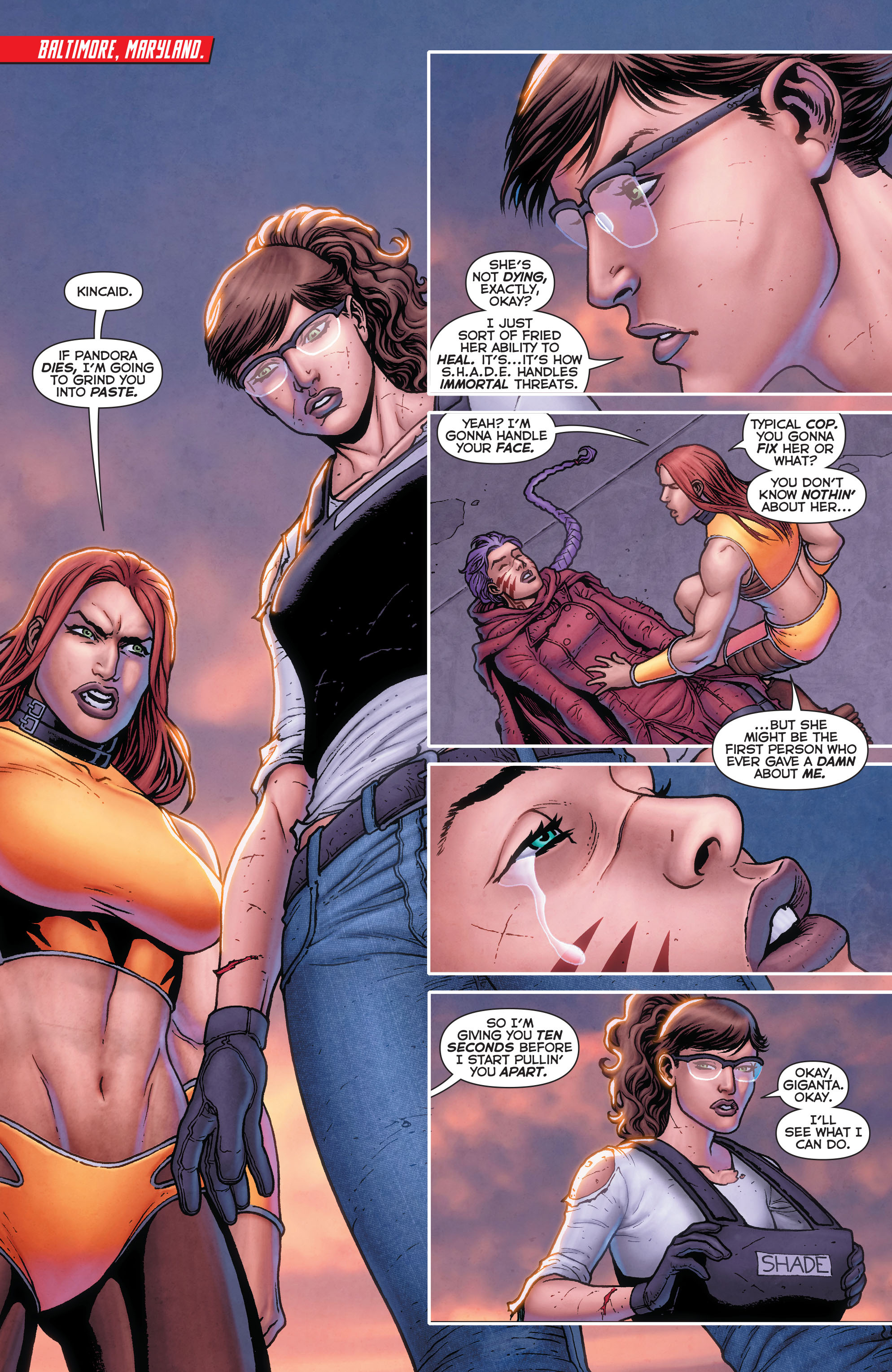 Read online Trinity of Sin: Pandora comic -  Issue #13 - 2