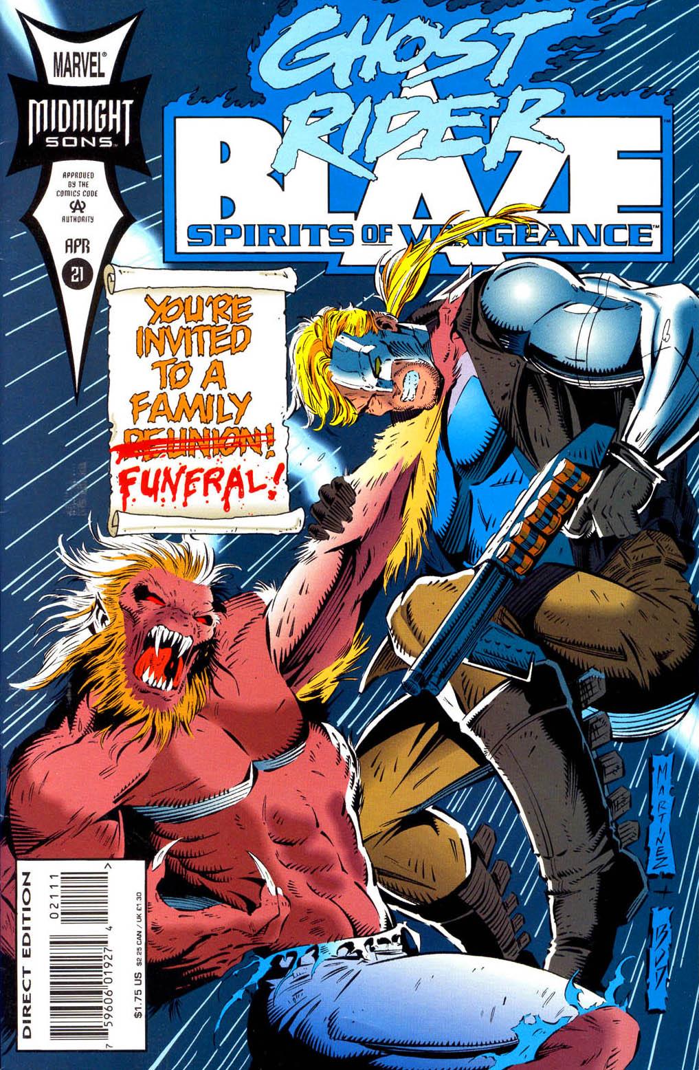 Ghost Rider/Blaze: Spirits of Vengeance 21 Page 1