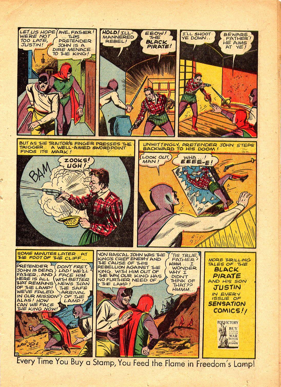 Read online Sensation (Mystery) Comics comic -  Issue #30 - 23