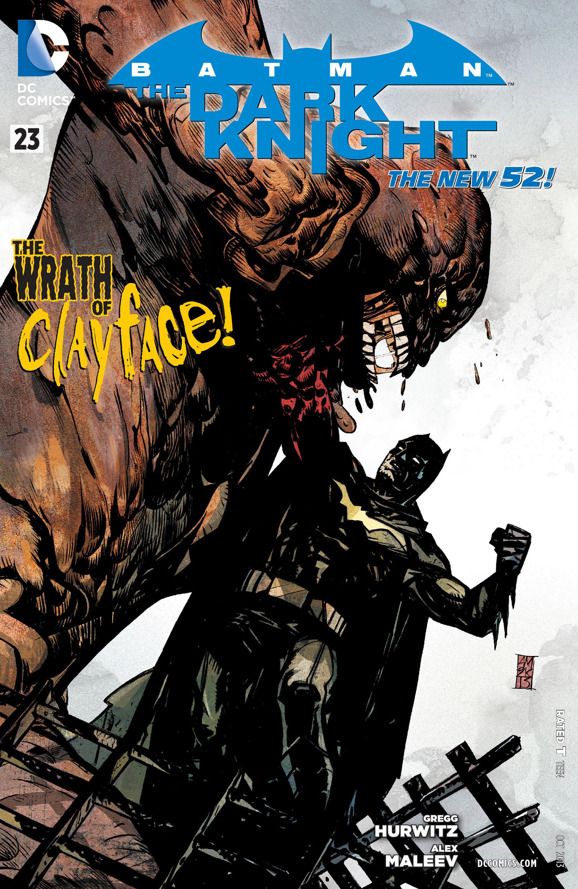 Batman: The Dark Knight [II] (2011) 23 Page 1
