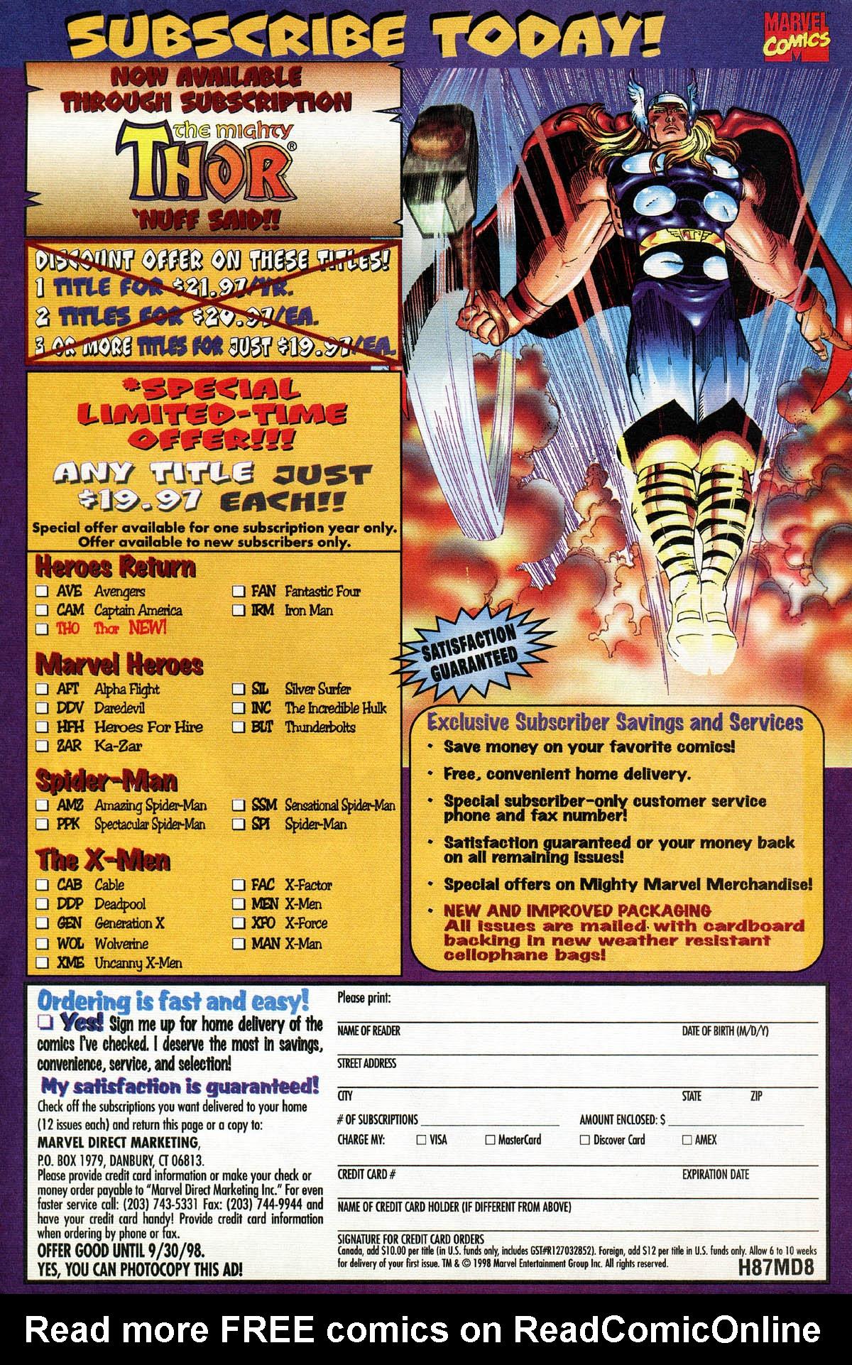Read online Alpha Flight (1997) comic -  Issue #14 - 23