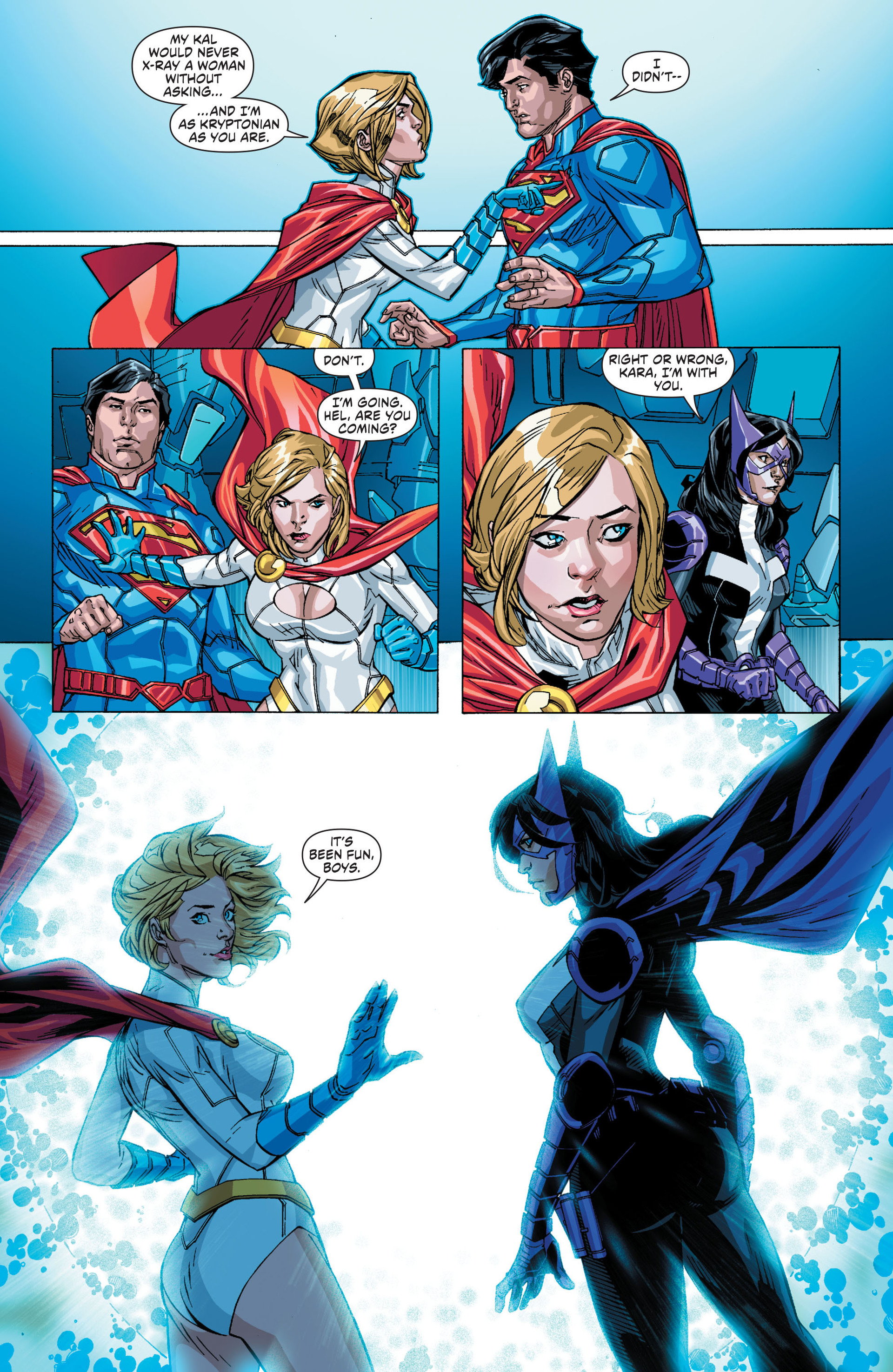 Read online Worlds' Finest comic -  Issue #21 - 9