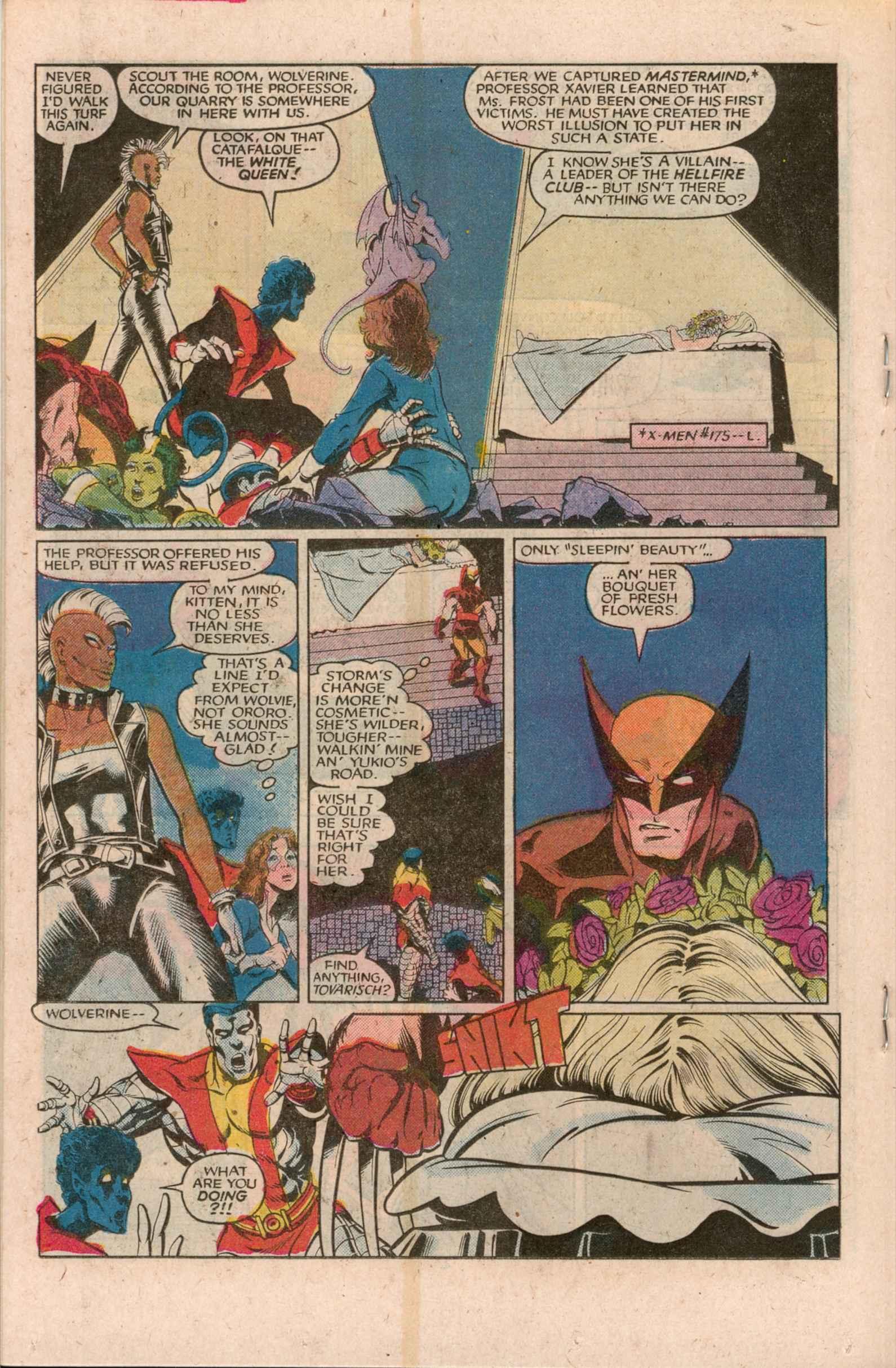 Read online Uncanny X-Men (1963) comic -  Issue # _Annual 7 - 21