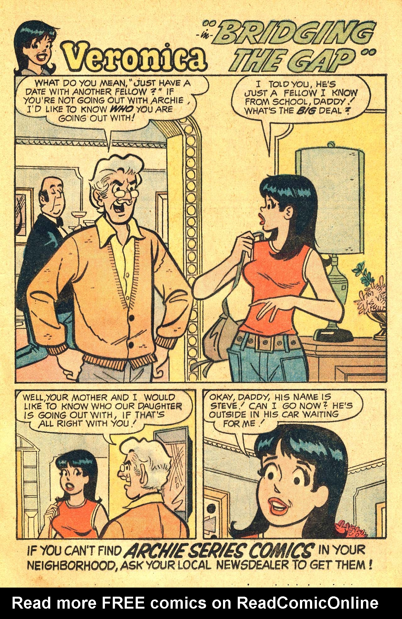 Read online Archie's Girls Betty and Veronica comic -  Issue #210 - 13
