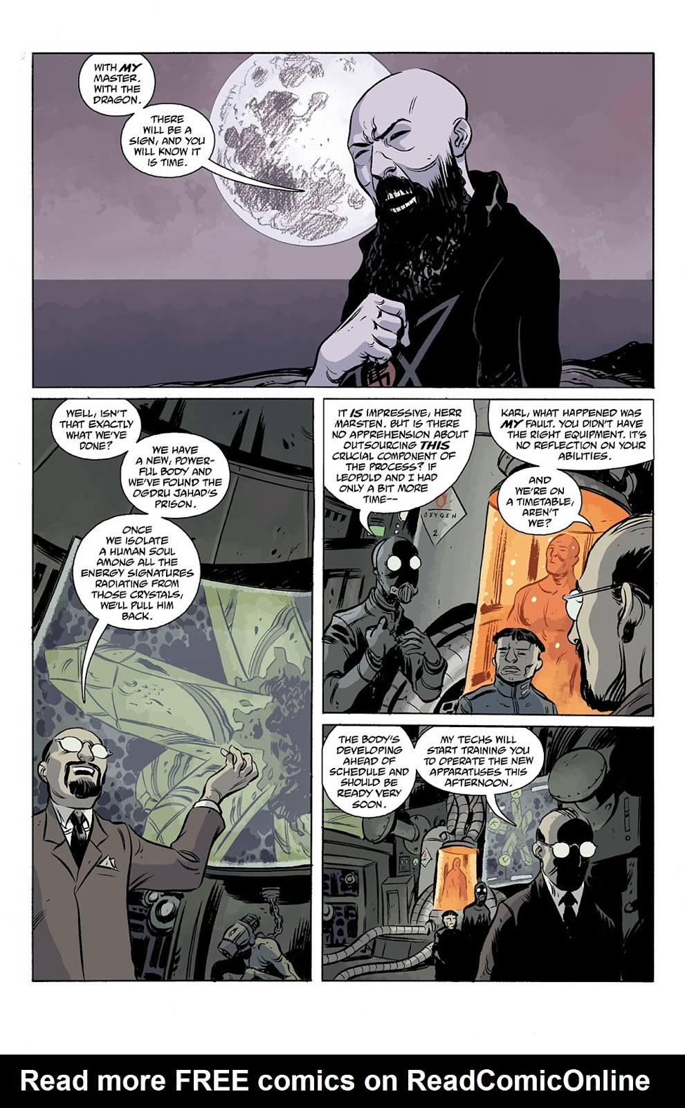 Read online B.P.R.D. Hell on Earth: The Return of the Master comic -  Issue #3 - 5