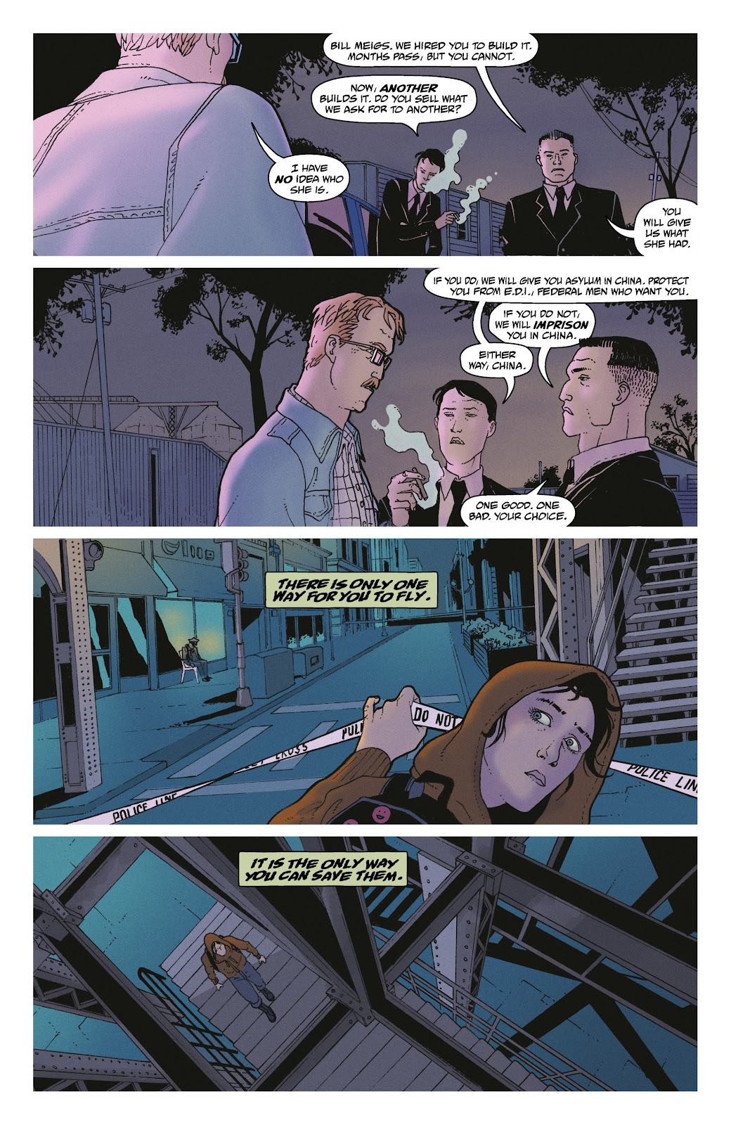 Read online She Could Fly comic -  Issue # _TPB - 35