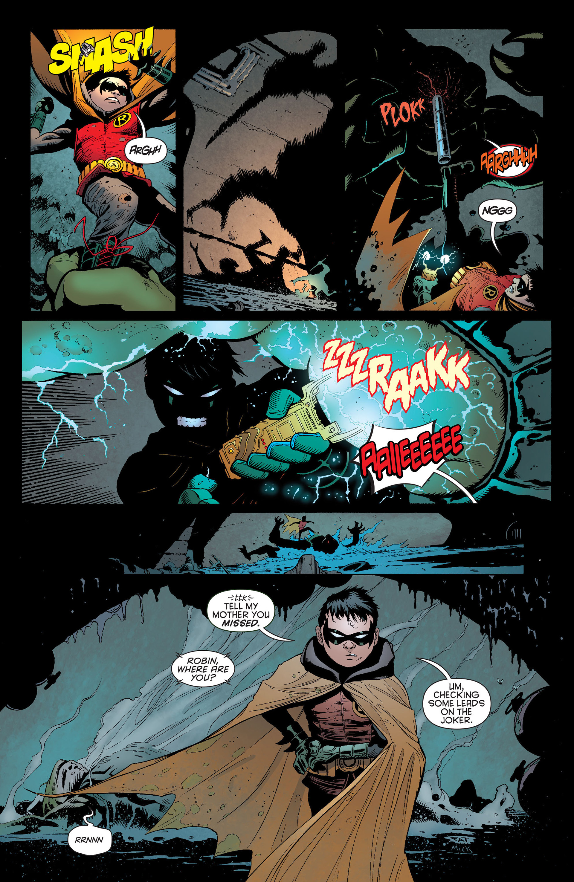 Read online Batman and Robin (2011) comic -  Issue #13 - 16