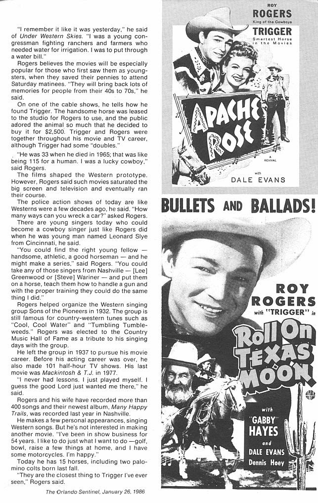 Read online Roy Rogers comic -  Issue #3 - 42
