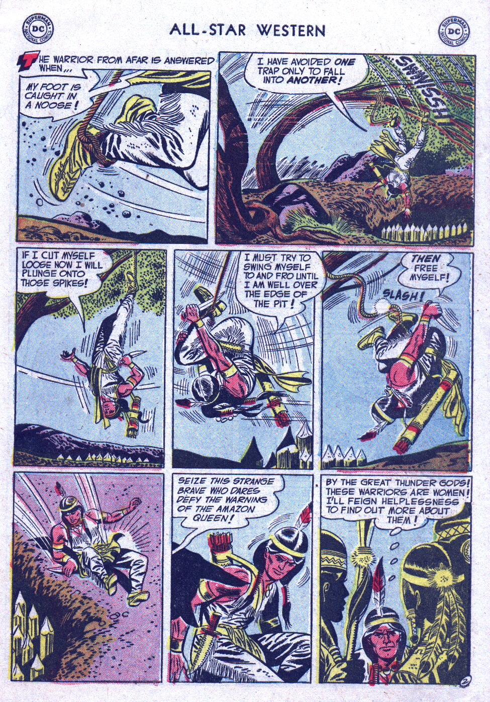Read online All-Star Western (1951) comic -  Issue #71 - 29