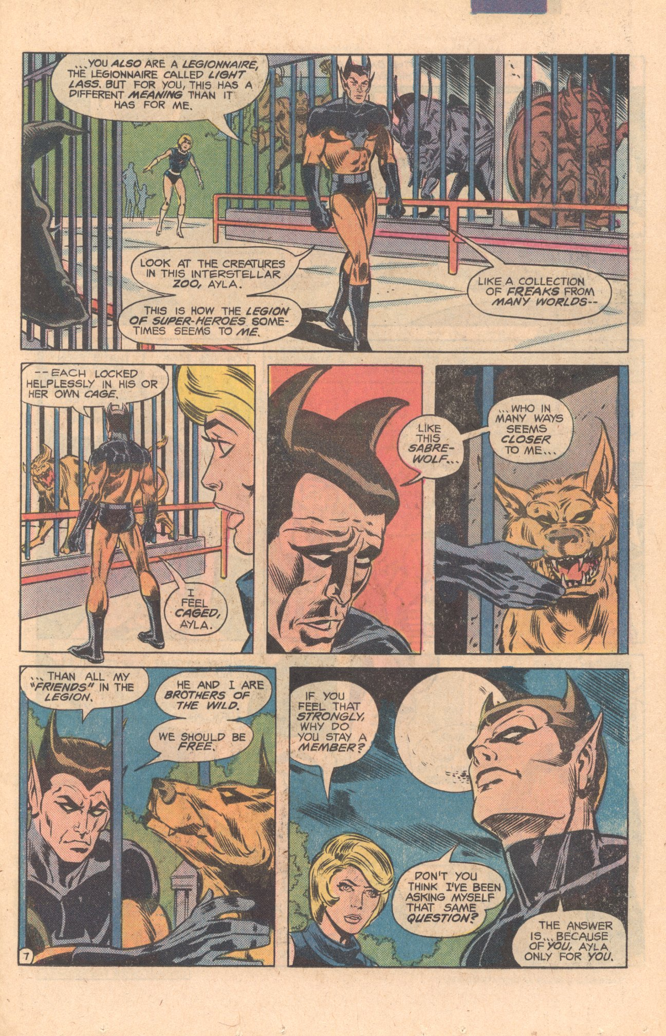 Legion of Super-Heroes (1980) 275 Page 7