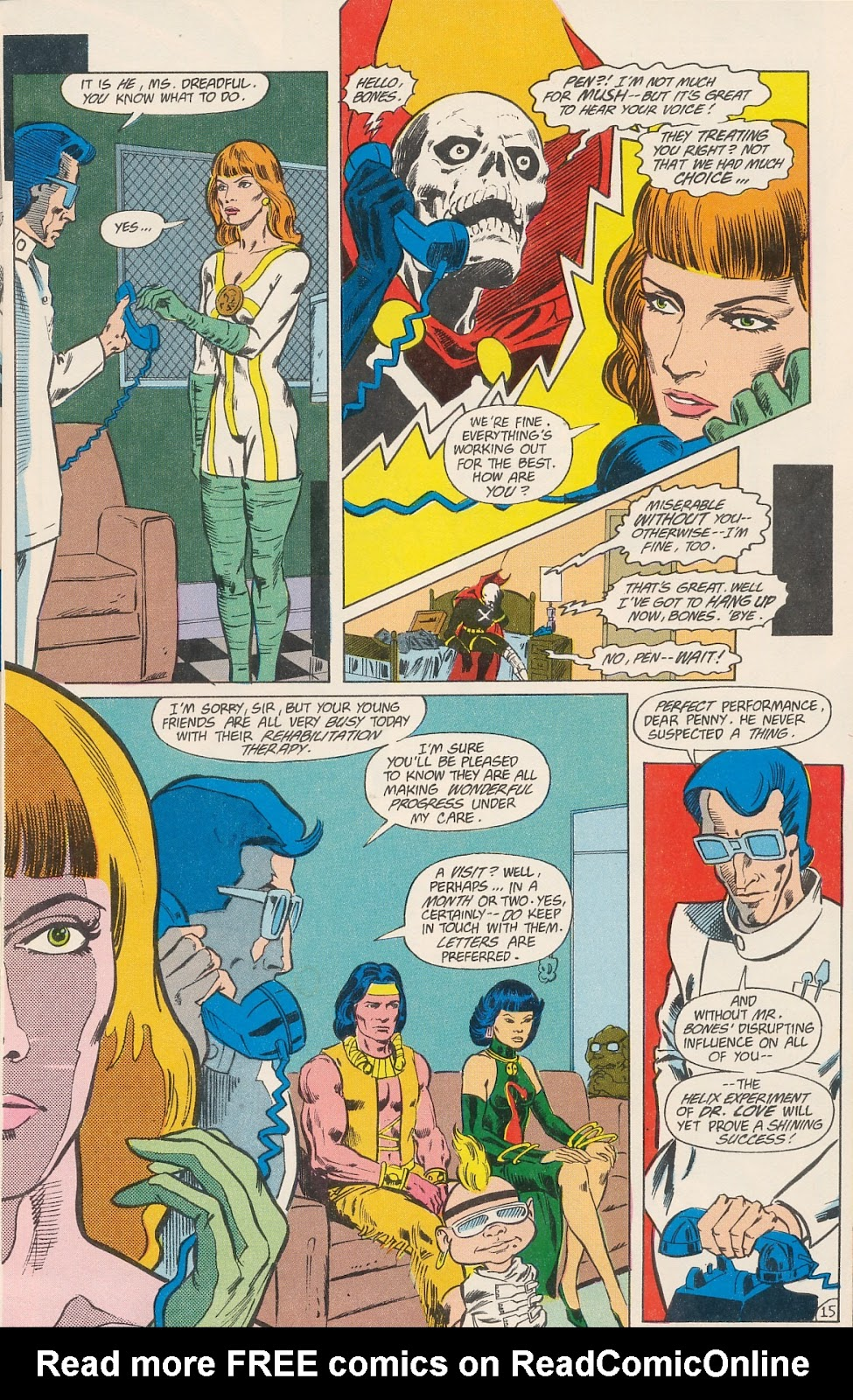 Infinity Inc. (1984) issue 40 - Page 17