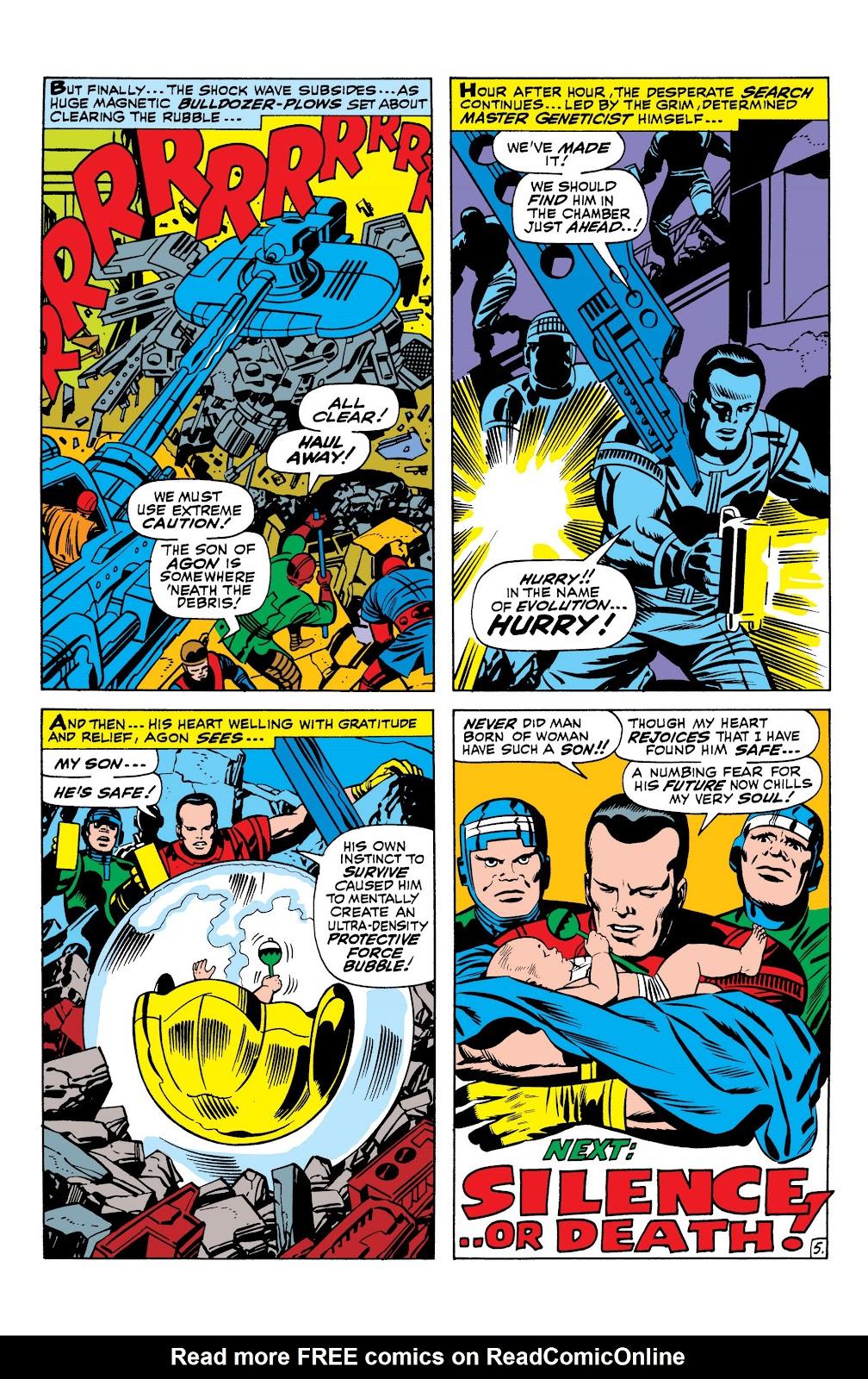 Read online Marvel Masterworks: The Inhumans comic -  Issue # TPB 1 (Part 1) - 22
