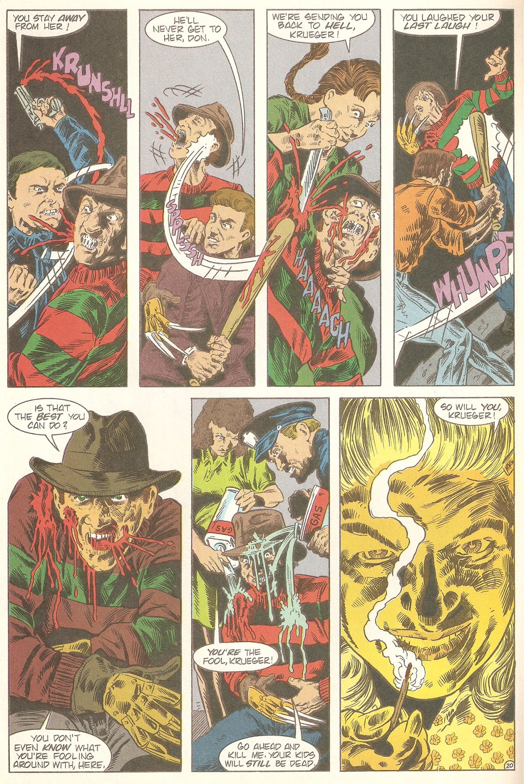 Read online A Nightmare on Elm Street: The Beginning comic -  Issue #2 - 22
