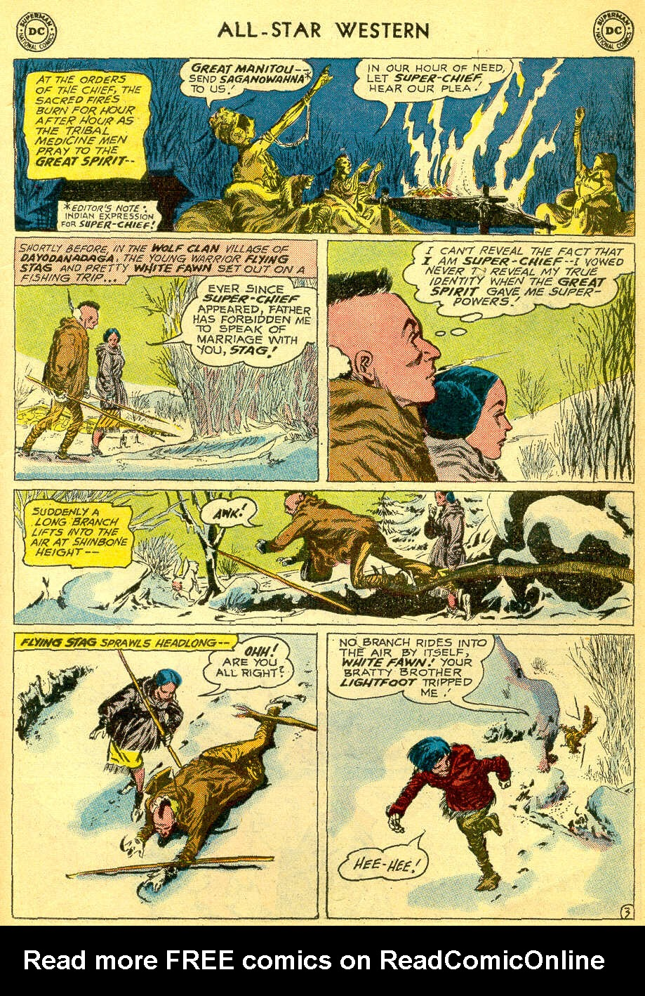 Read online All-Star Western (1951) comic -  Issue #118 - 23