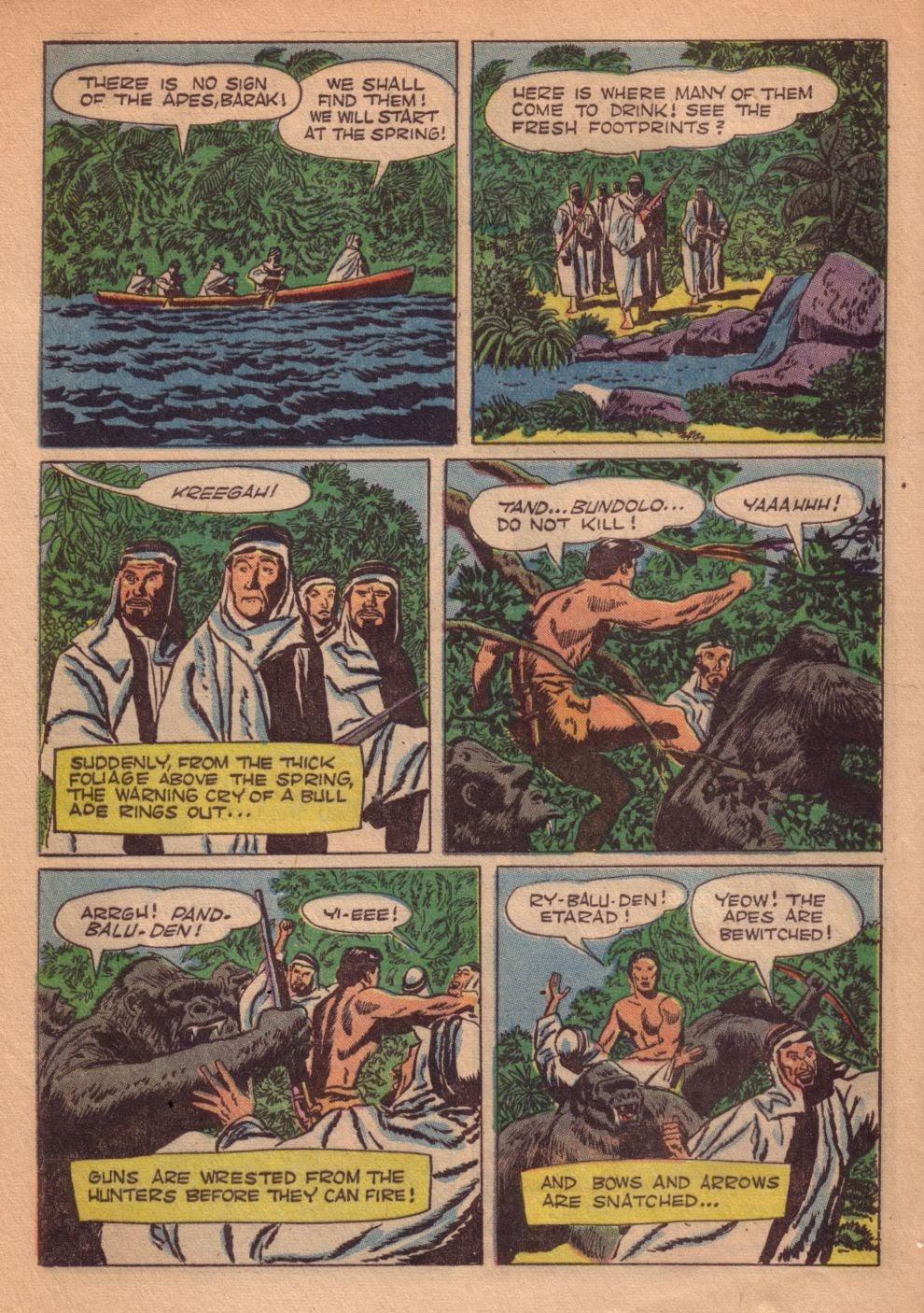 Tarzan (1948) issue 55 - Page 36