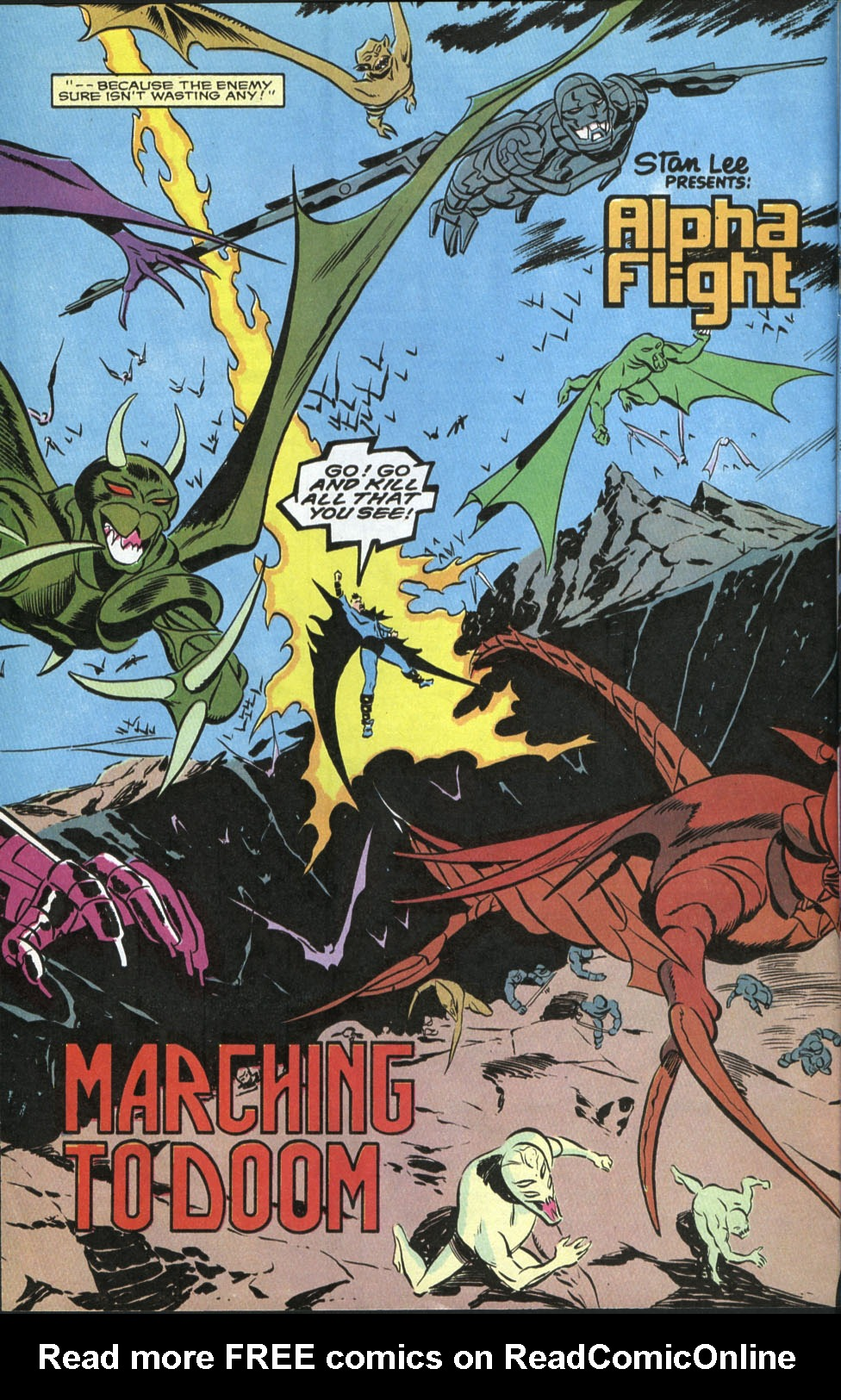 Read online Alpha Flight (1983) comic -  Issue #85 - 3