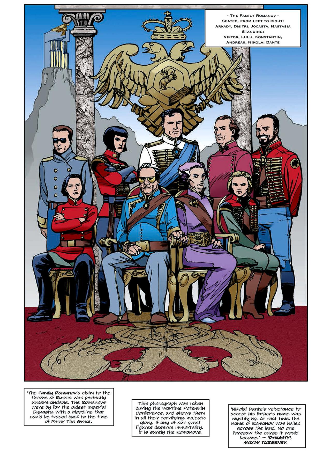 Read online Nikolai Dante comic -  Issue # TPB 4 - 108