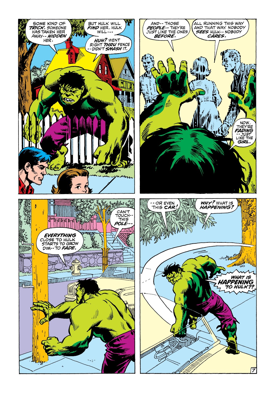 Read online Marvel Masterworks: The Incredible Hulk comic -  Issue # TPB 8 (Part 1) - 82