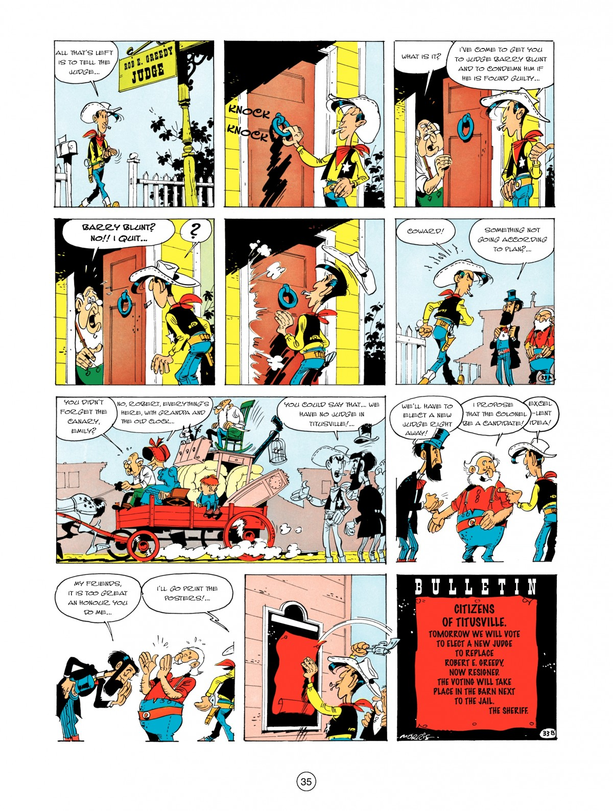 A Lucky Luke Adventure 5 Page 36