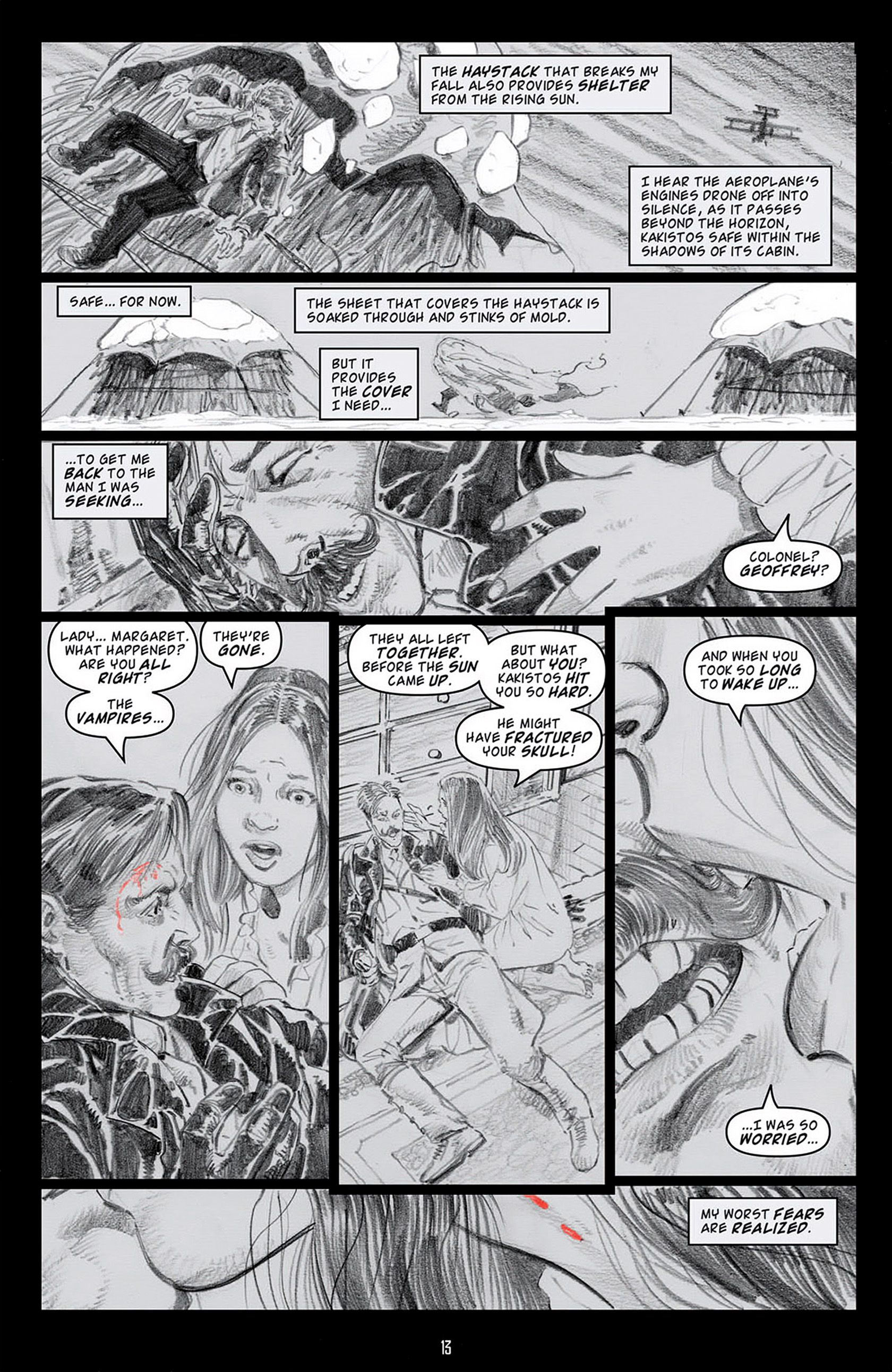 Read online Angel: Blood & Trenches comic -  Issue #4 - 16